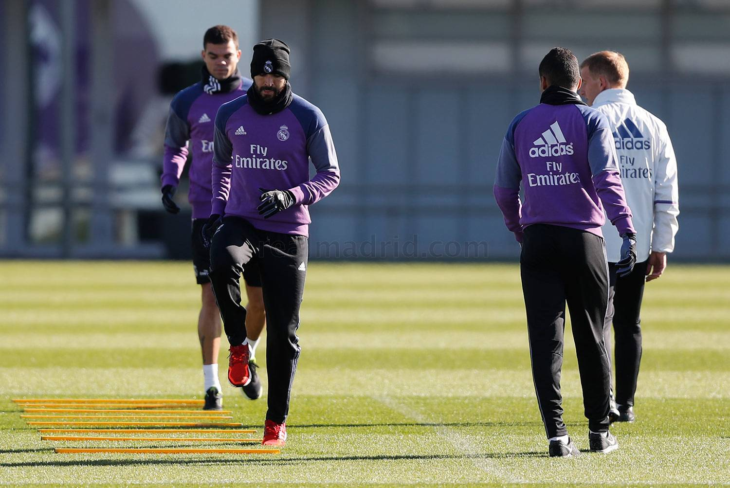 Real Madrid - Entrenamiento del Real Madrid - 10-11-2016