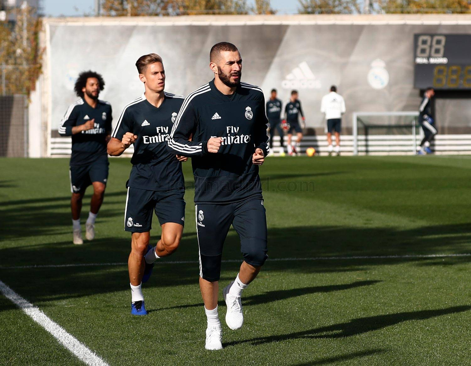 Real Madrid - Entrenamiento del Real Madrid - 13-11-2018