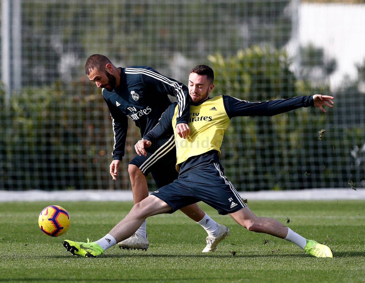 Real Madrid - Entrenamiento del Real Madrid - 15-11-2018