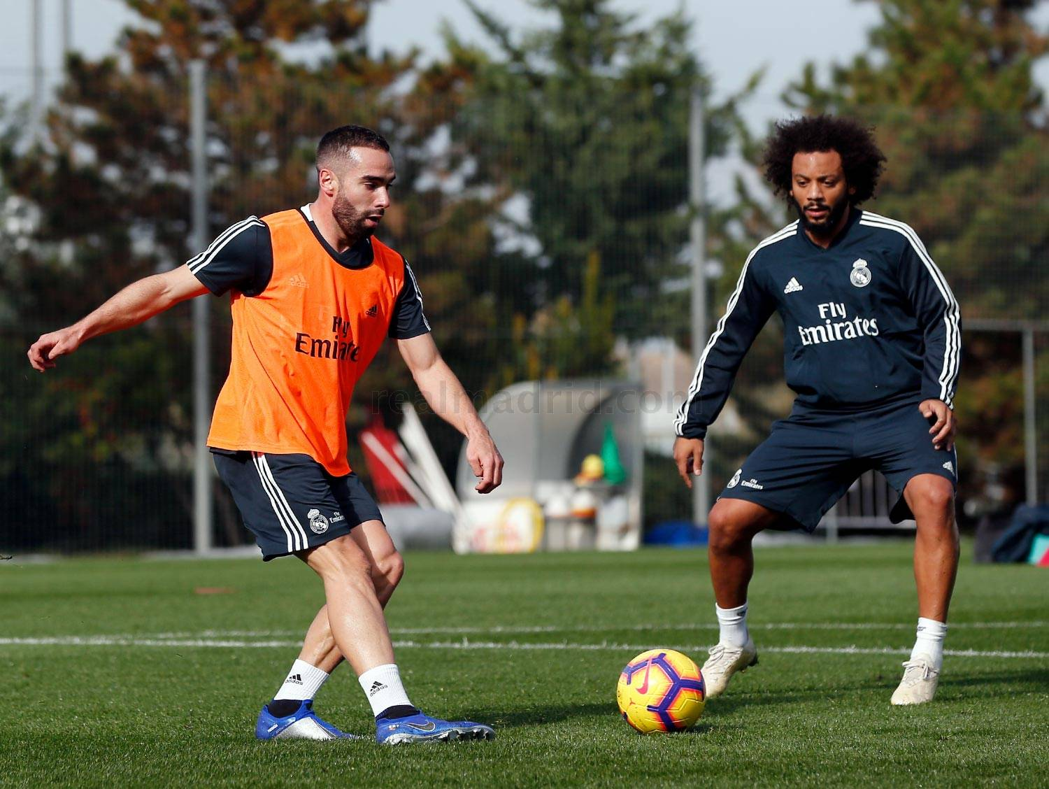Real Madrid - Entrenamiento del Real Madrid - 14-11-2018