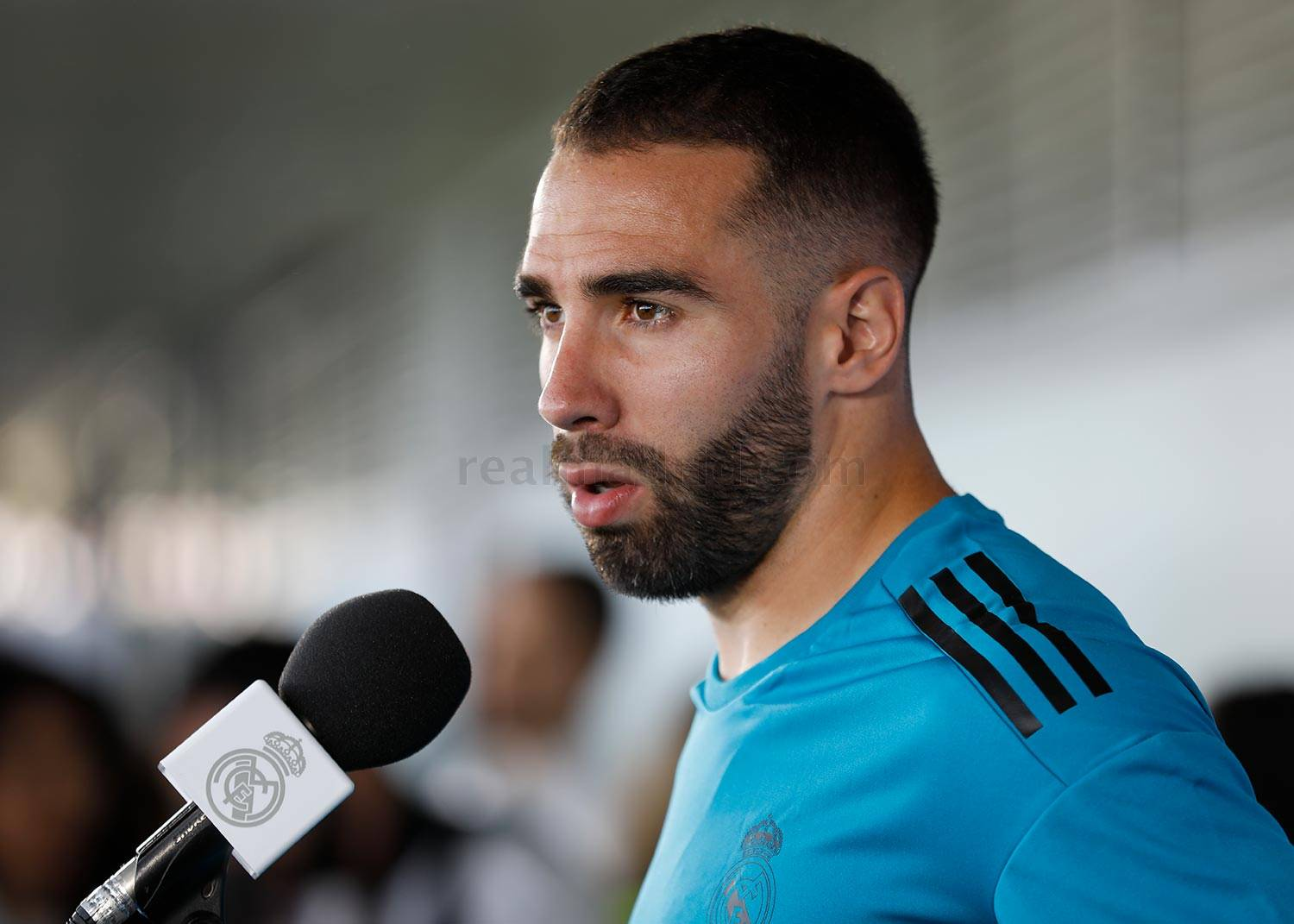 Real Madrid - Carvajal durante el Open Media Day 2018 - 22-05-2018