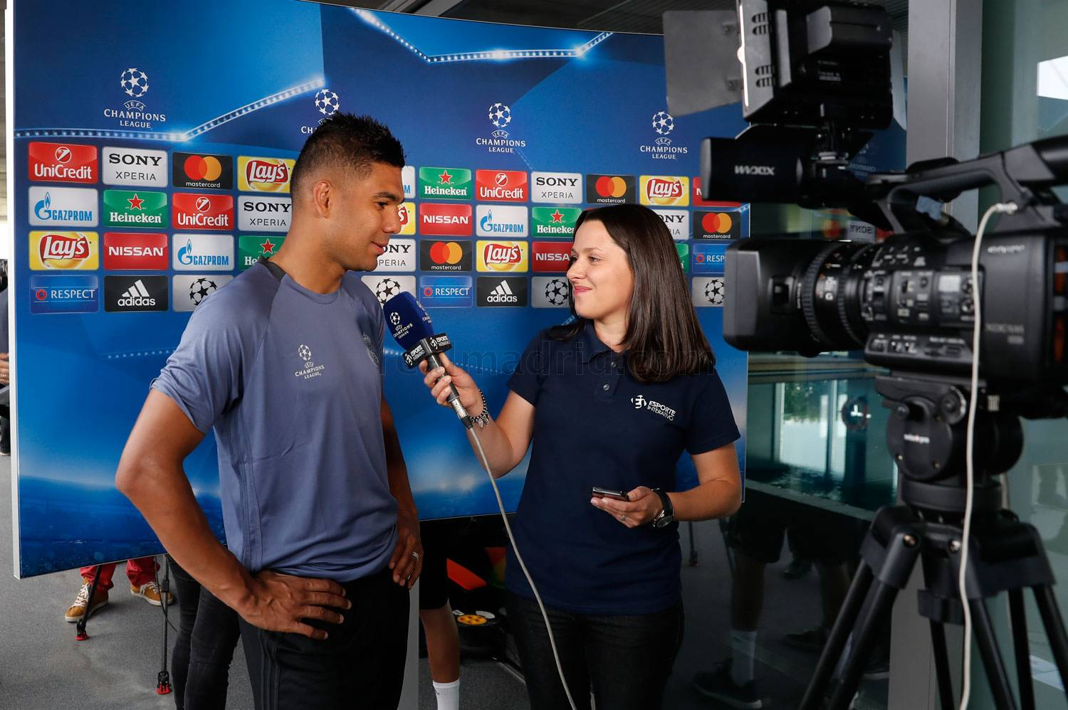 Real Madrid - Casemiro durante el Open Media Day 2017 - 30-05-2017