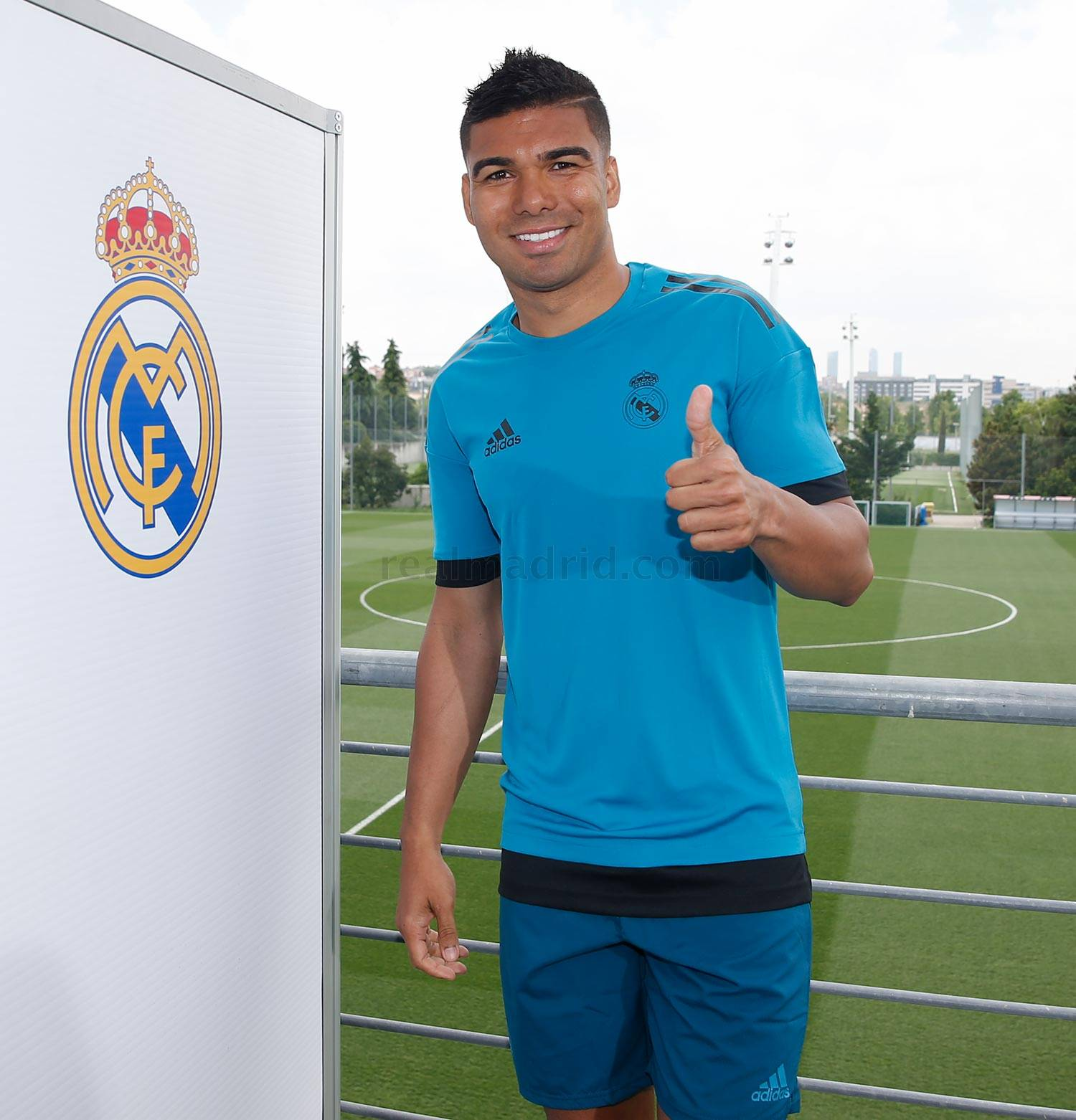 Real Madrid - Casemiro durante el Open Media Day 2018 - 22-05-2018