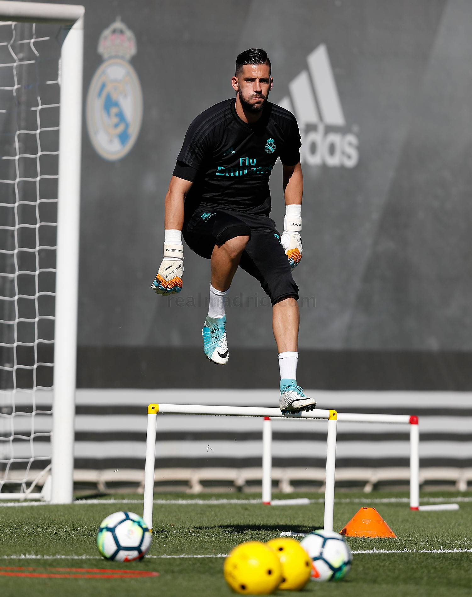 Real Madrid - Entrenamiento del Real Madrid - 04-09-2017