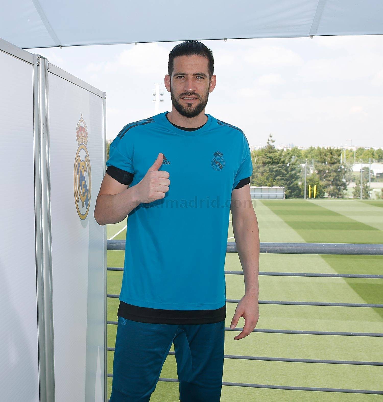 Real Madrid - Casilla durante el Open Media Day 2018 - 22-05-2018