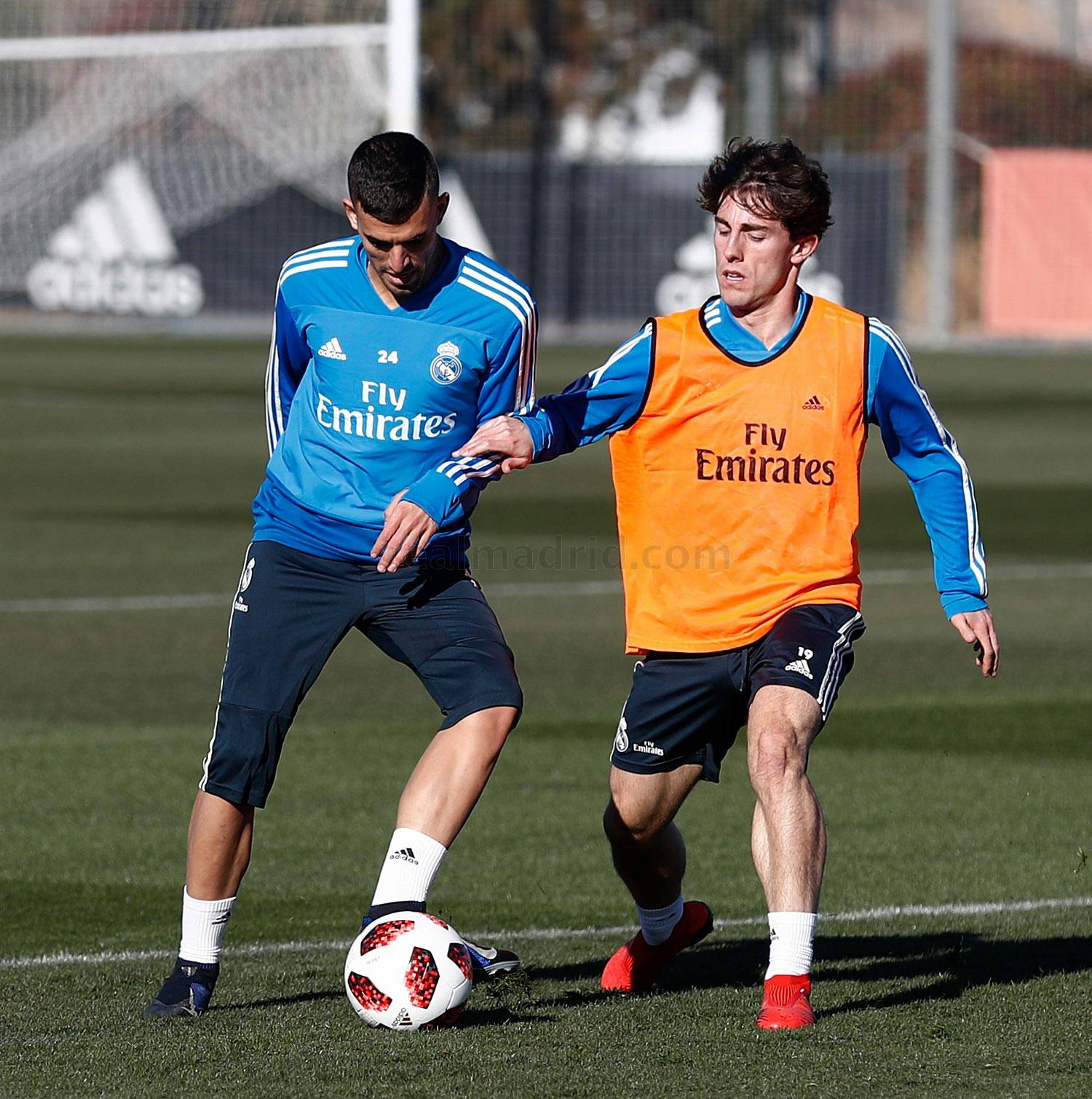 Real Madrid - Entrenamiento del Real Madrid - 07-01-2019