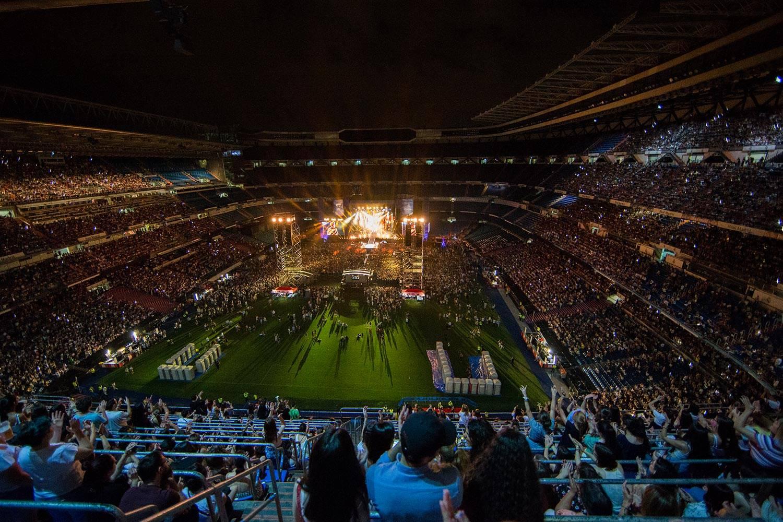 El Santiago Bernabéu, sede de la final de la Libertadores Concierto-ot-bernabeu_1rm9592_20181130121728
