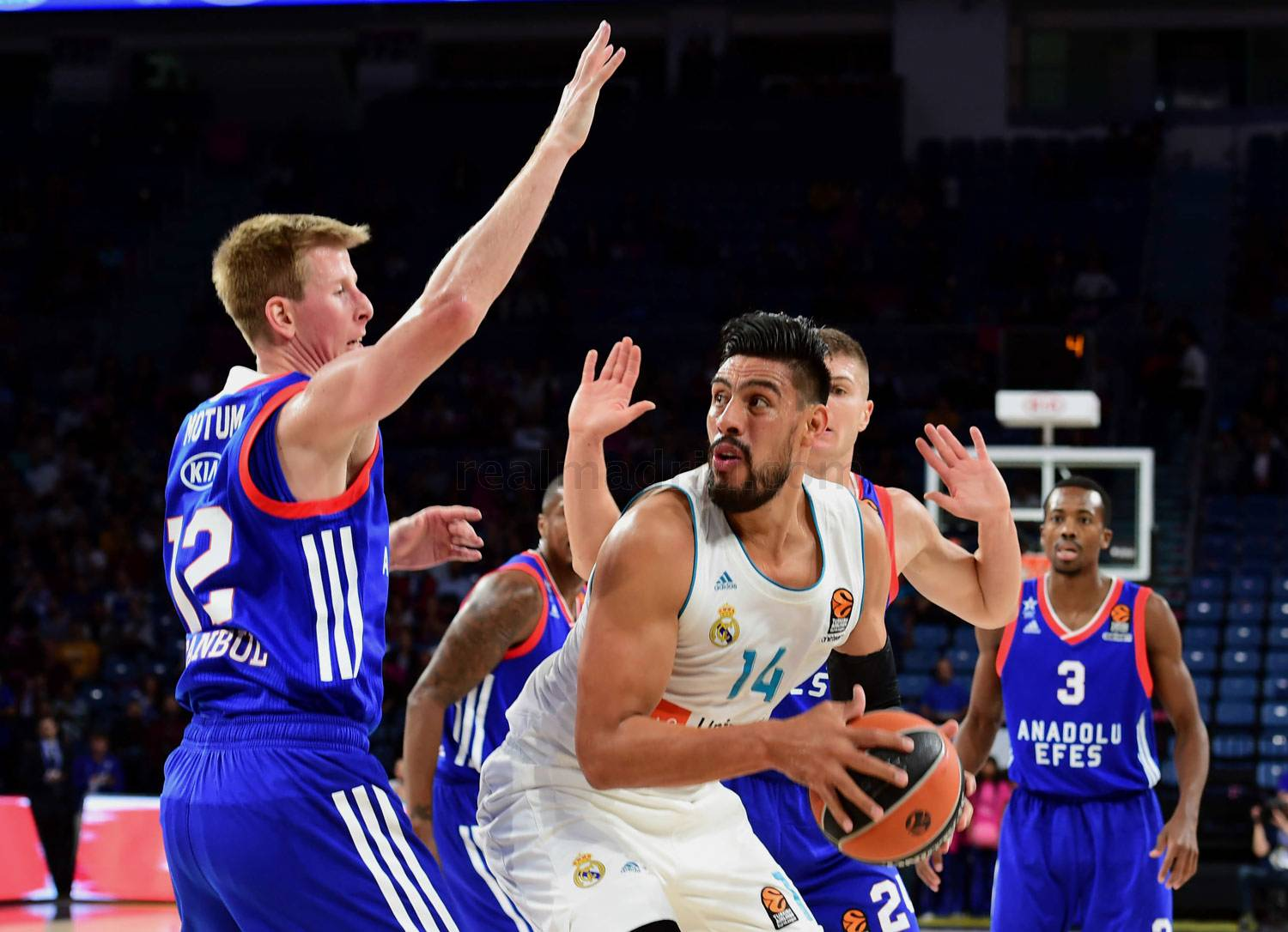 Real Madrid - Anadolu Efes - Real Madrid - 13-10-2017