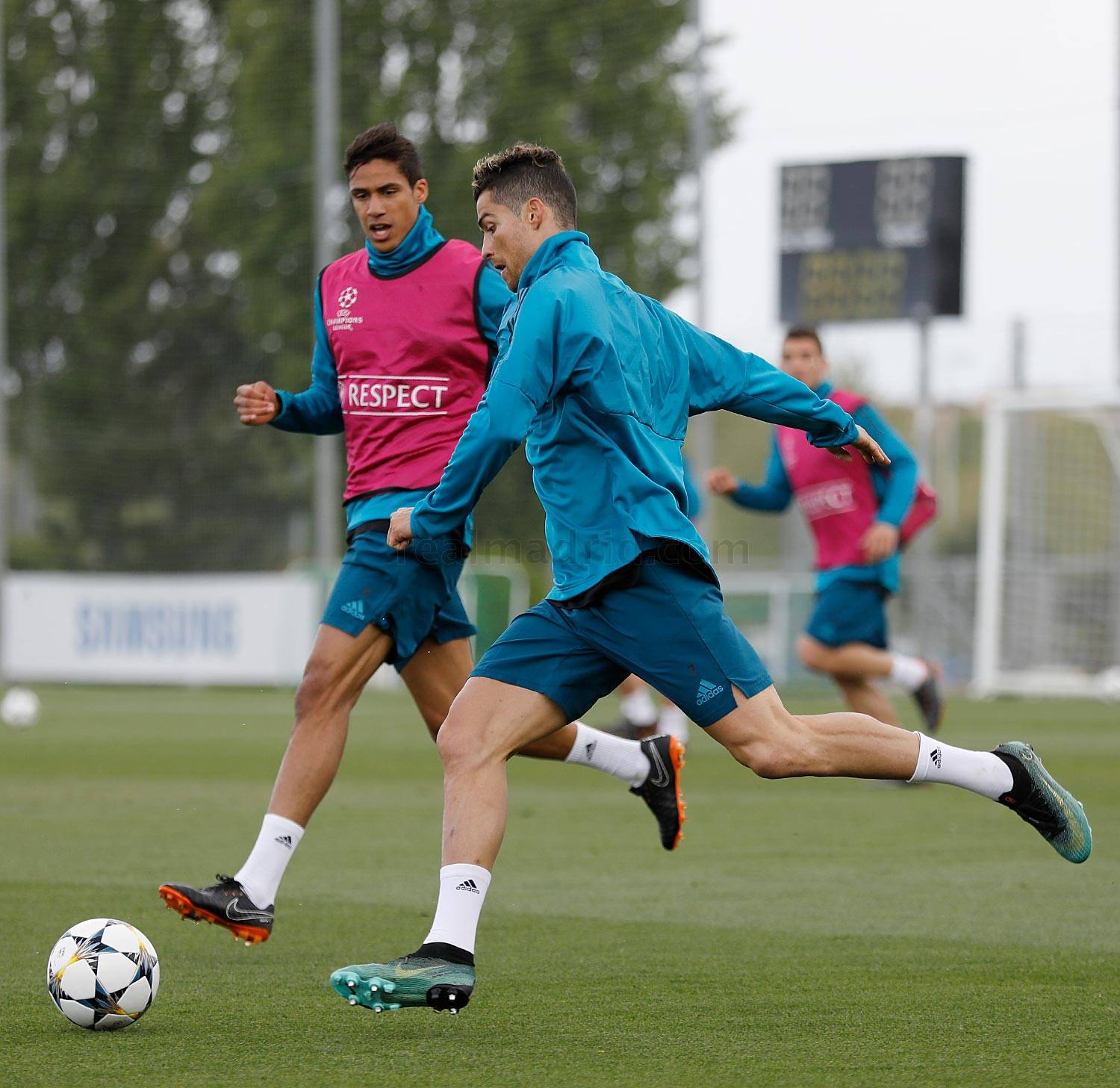 Real Madrid - Entrenamiento del Real Madrid - 30-04-2018