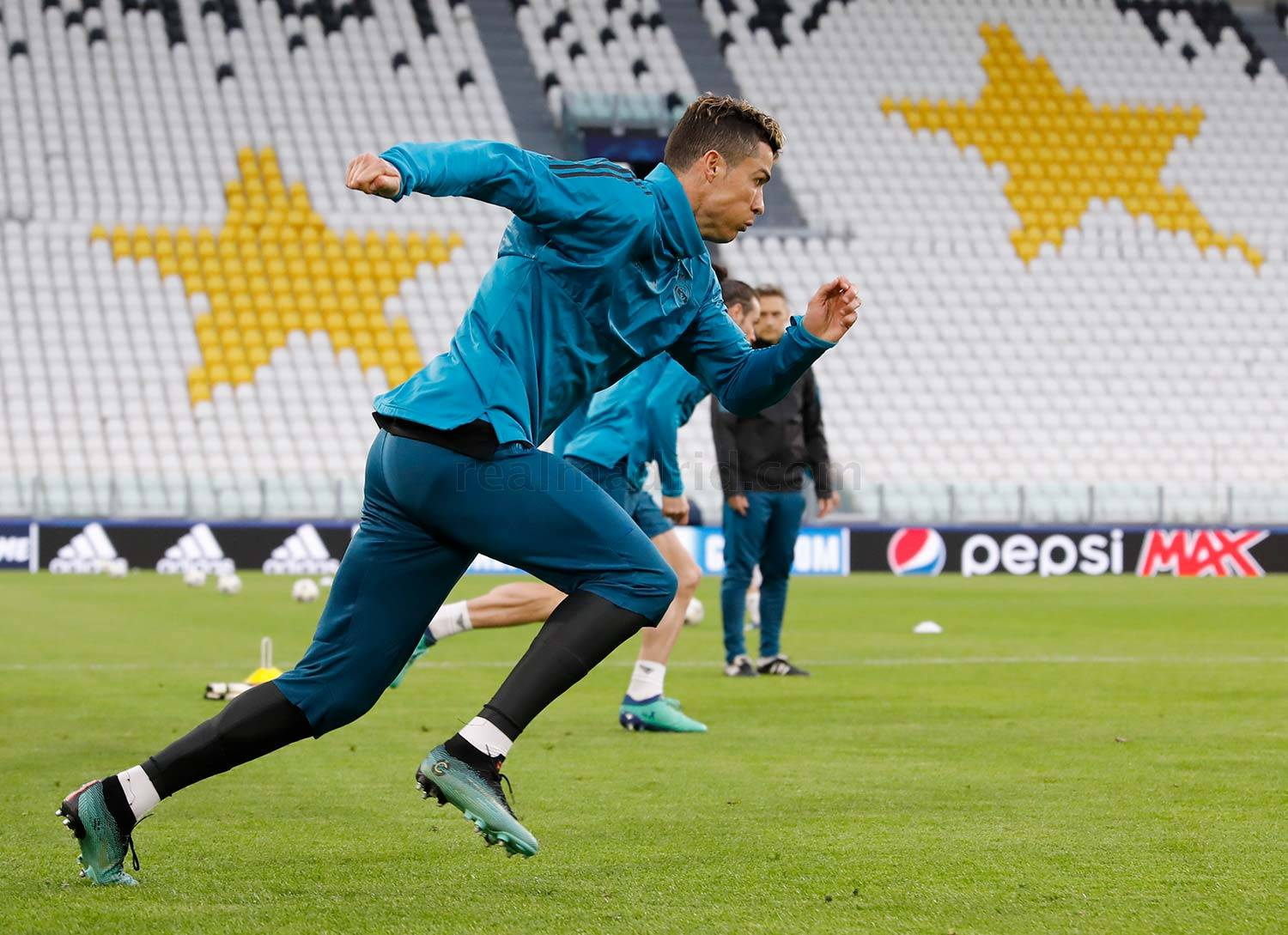 Real Madrid - Entrenamiento del Real Madrid - 02-04-2018