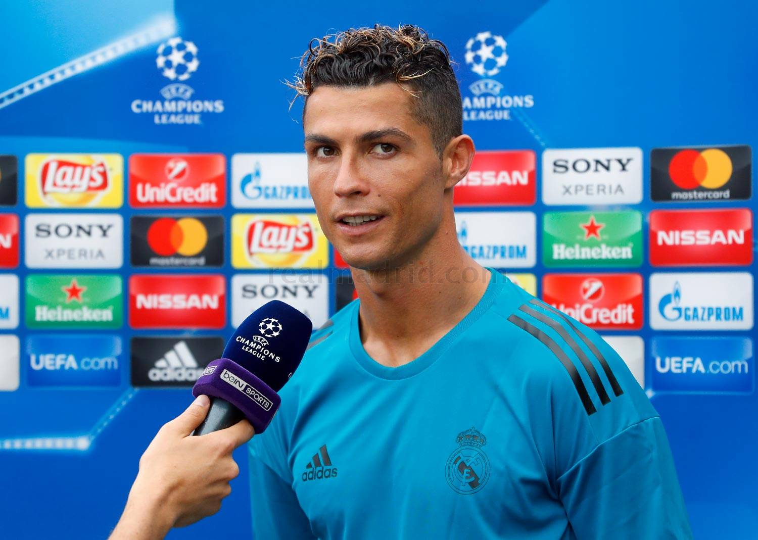 Real Madrid - Cristiano Ronaldo durante el Open Media Day 2018 - 22-05-2018