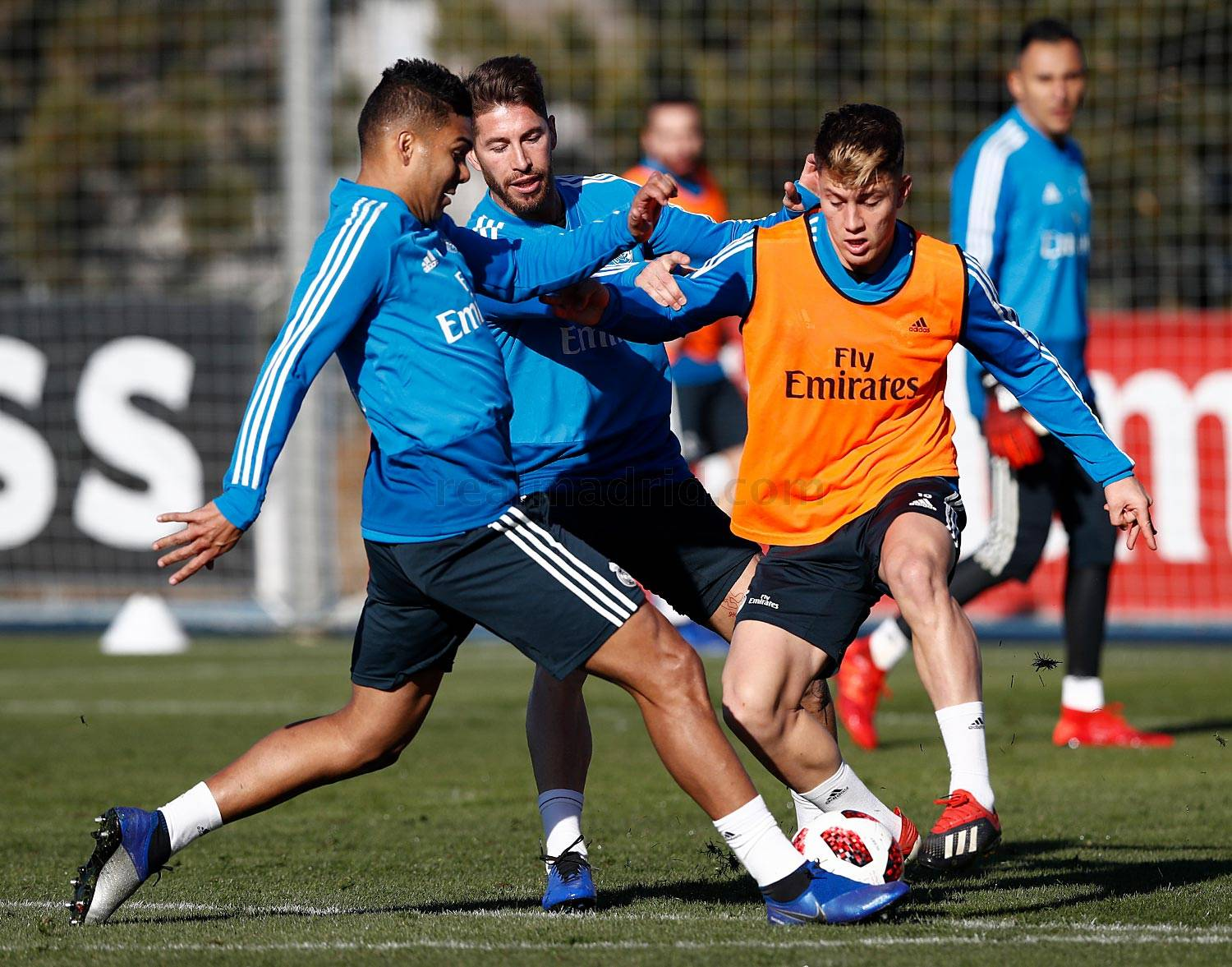 Real Madrid - Entrenamiento del Real Madrid - 08-01-2019