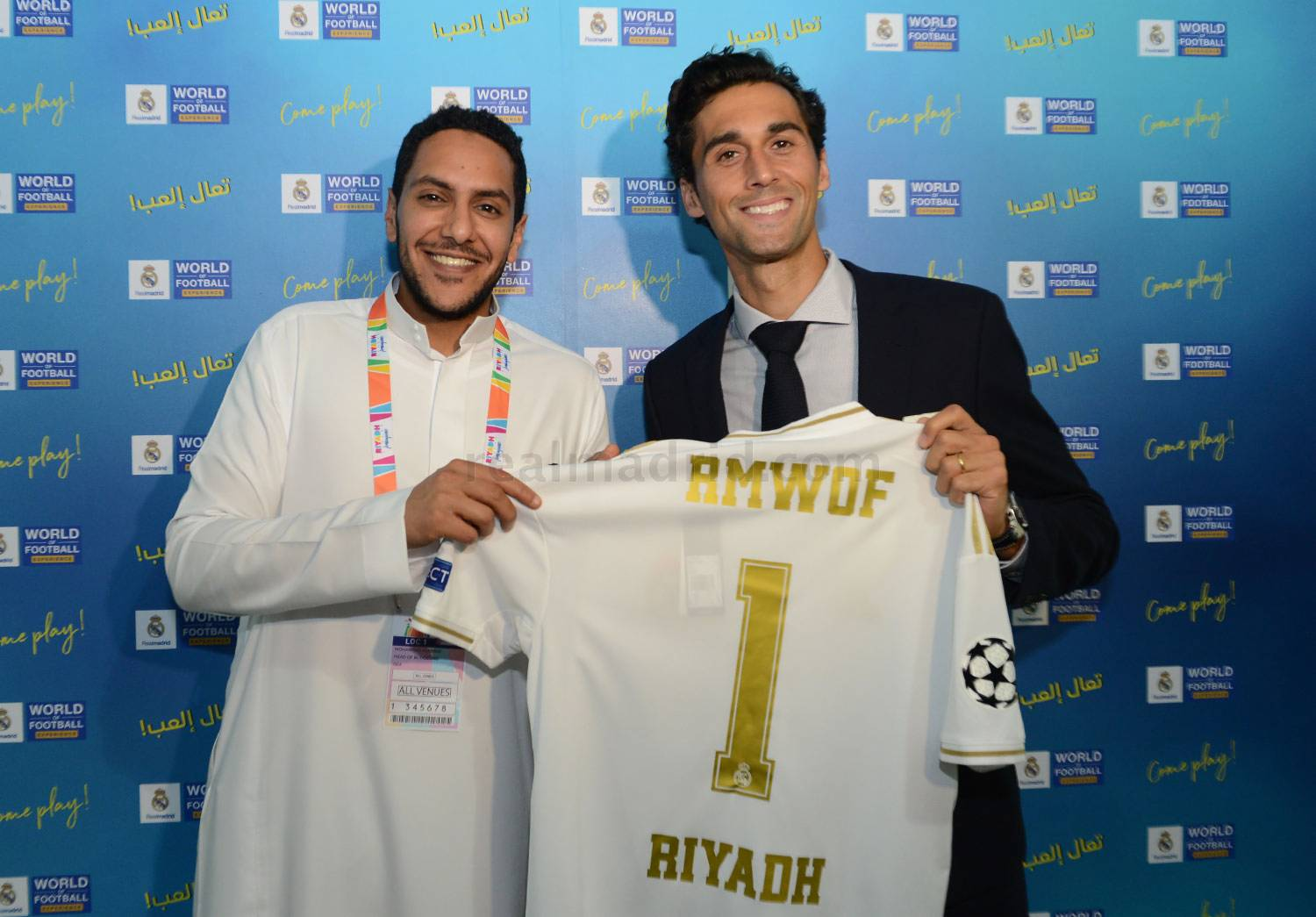 Real Madrid - La exposición 'Real Madrid World of Football Experience' llega a Riad - 25-10-2019