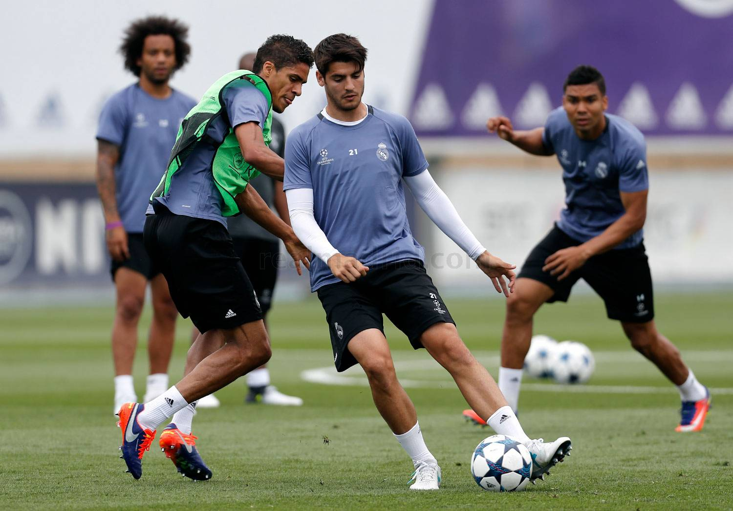 Real Madrid - Entrenamiento del Real Madrid - 30-05-2017