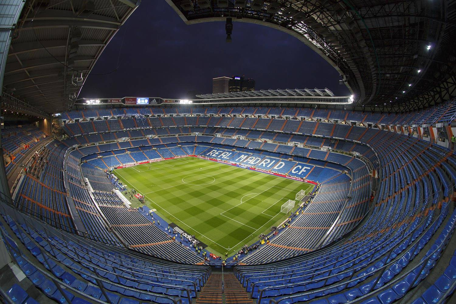 Real Madrid - Plano general del Santiago Bernabéu - 29-11-2018