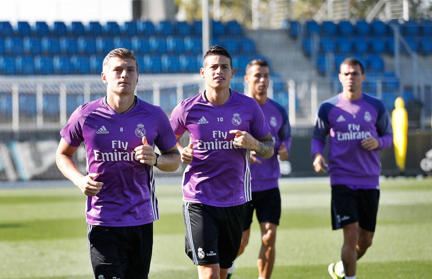 Real Madrid - Entrenamiento del Real Madrid - 22-09-2016