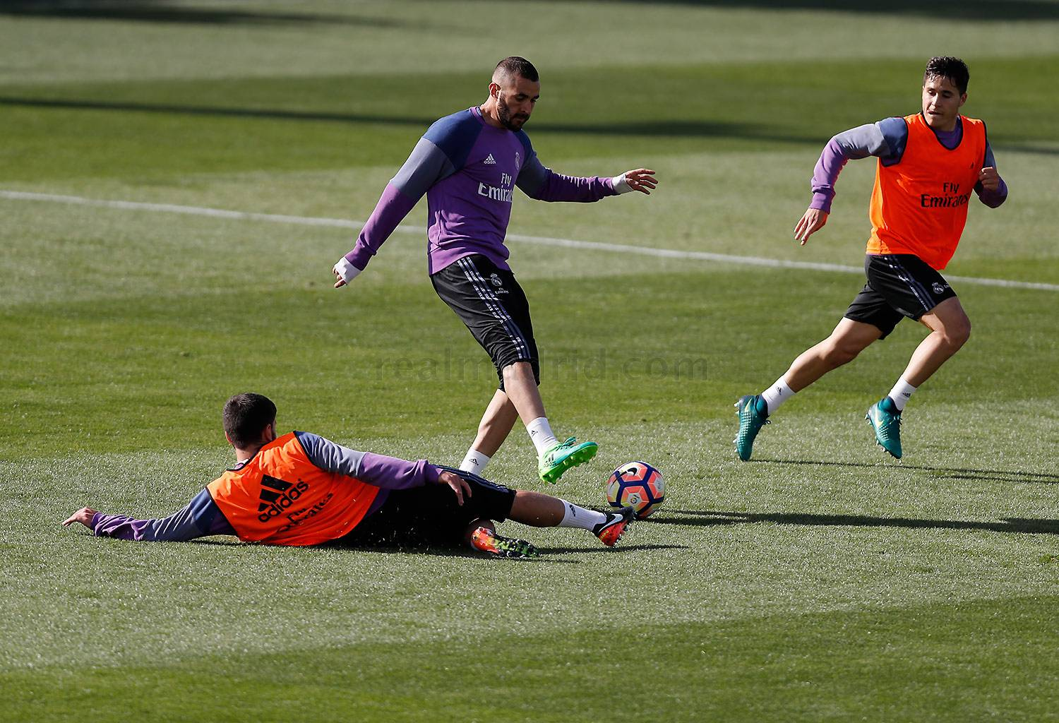 Real Madrid - Entrenamiento del Real Madrid - 27-03-2017