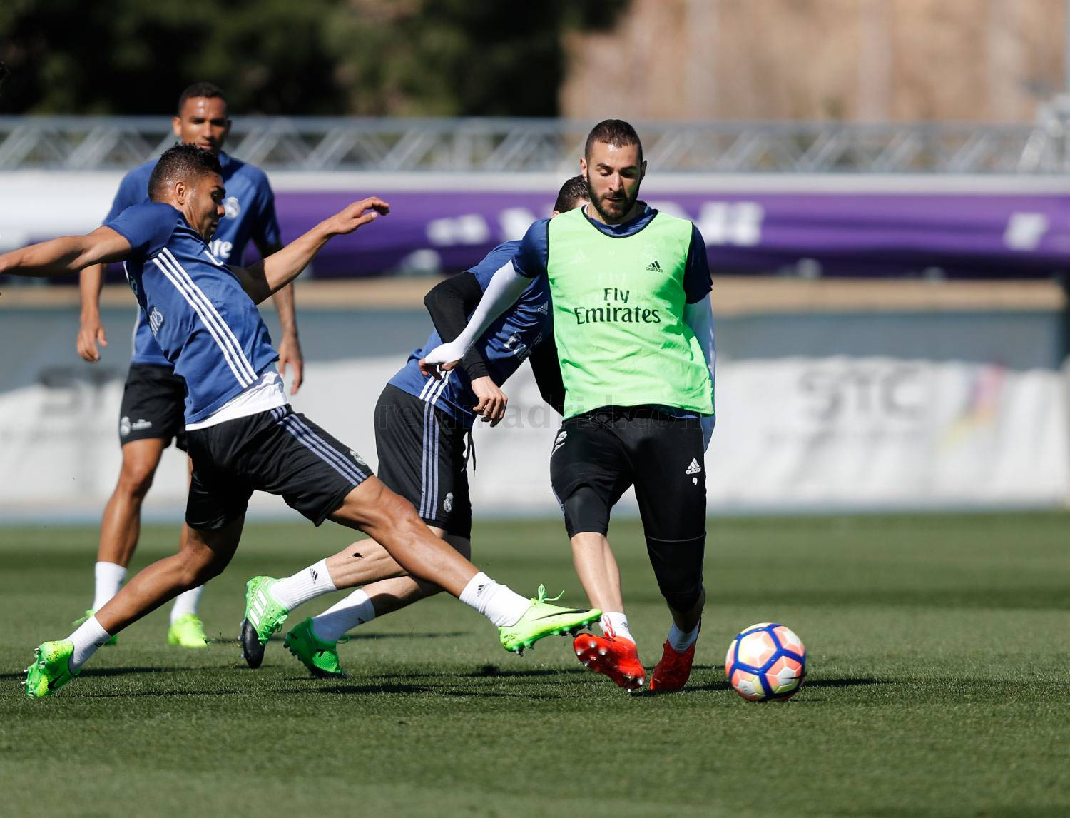 Real Madrid - Entrenamiento del Real Madrid - 15-03-2017
