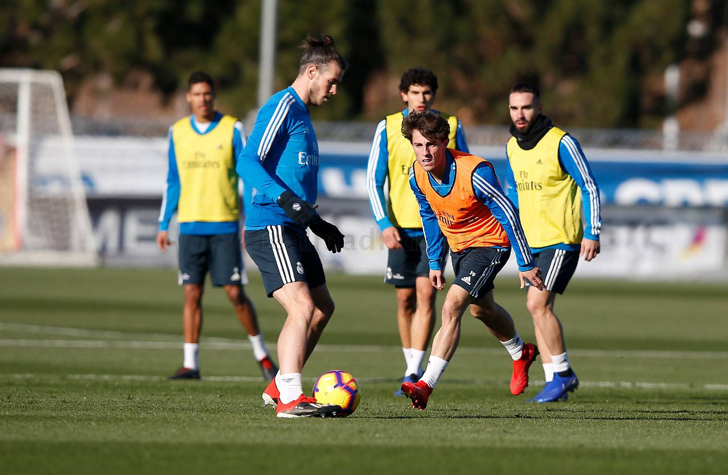 Real Madrid - Entrenamiento del Real Madrid - 02-01-2019