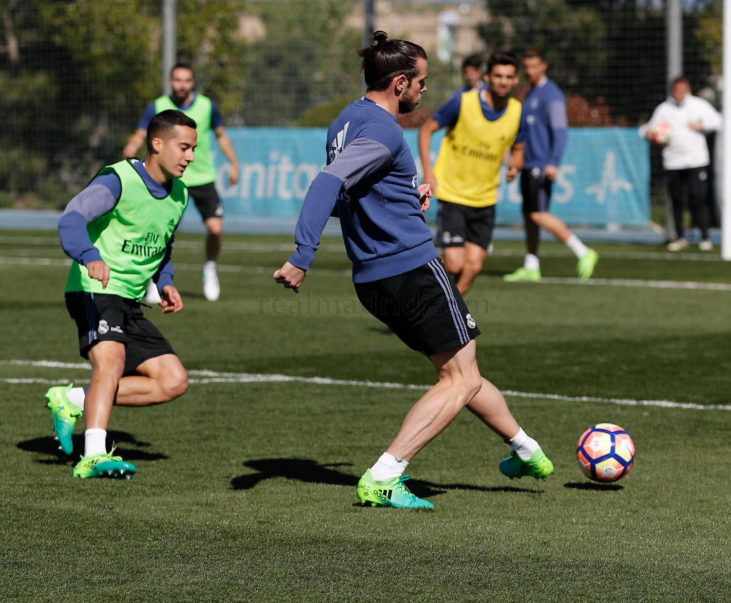 last session before the game against legan233s real madrid cf
