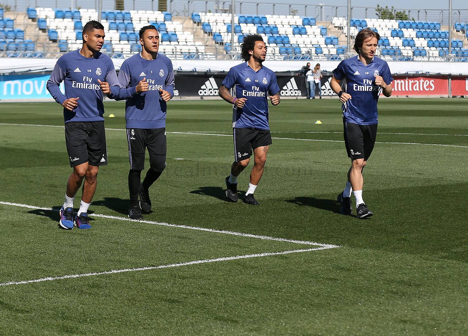 Real Madrid - Entrenamiento del Real Madrid - 09-04-2017