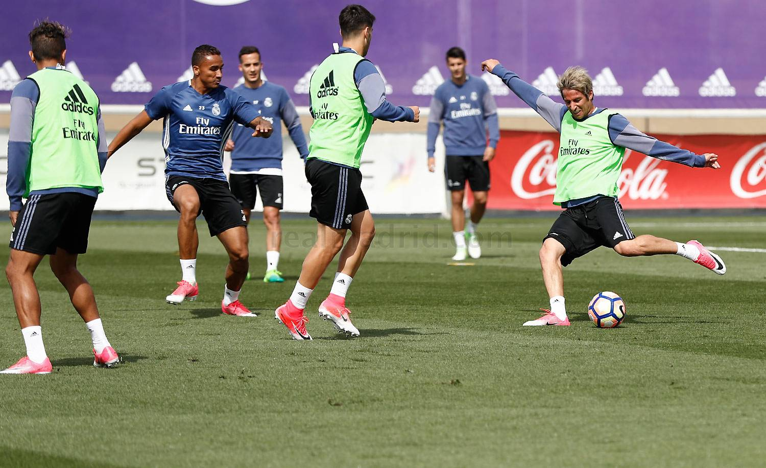Real Madrid - Entrenamiento del Real Madrid - 20-04-2017