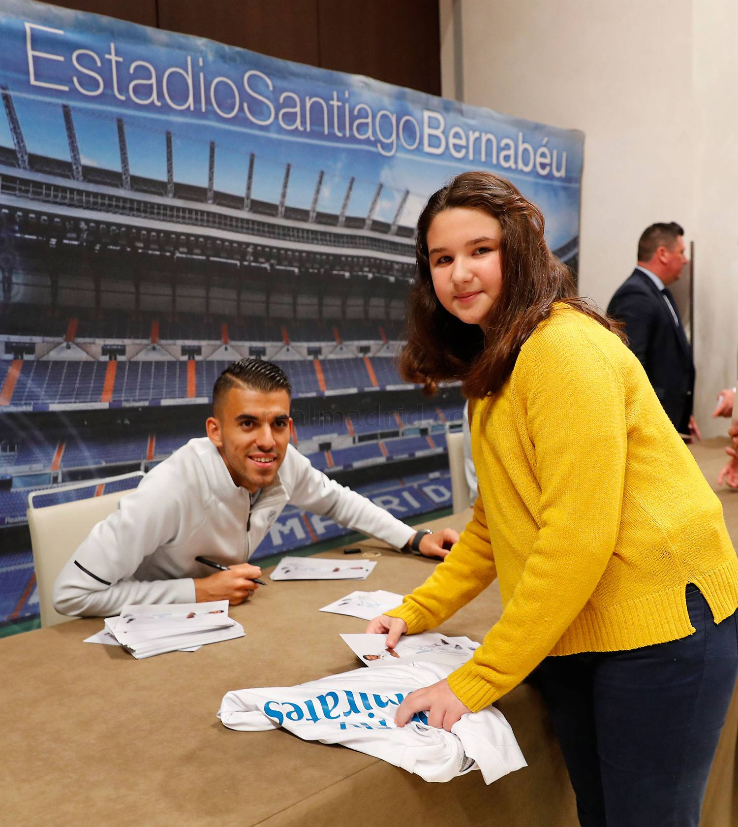 Real Madrid - Firmas del Real Madrid - 09-05-2018
