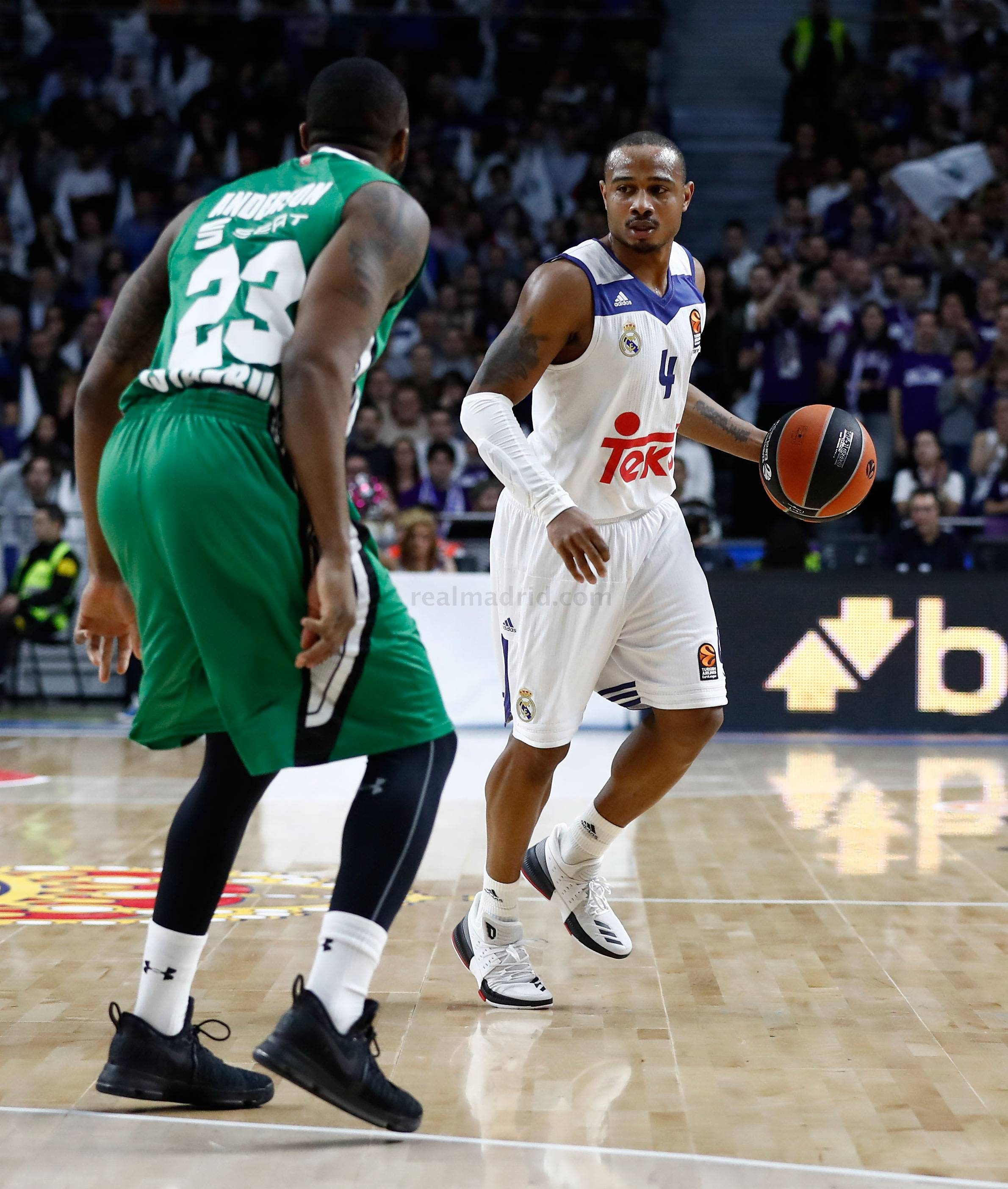 Real Madrid - Real Madrid - Darussafaka - 24-02-2017