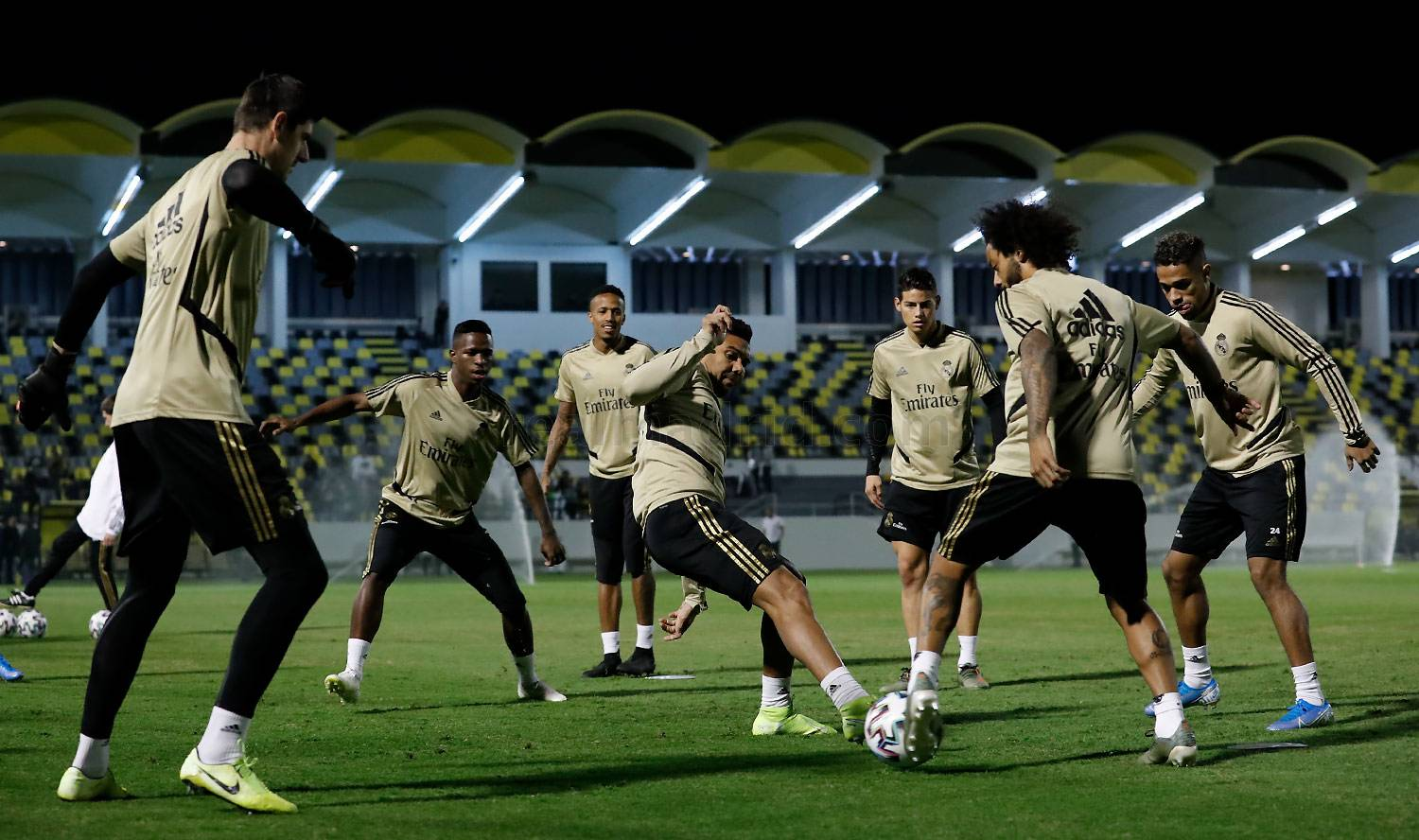 Real Madrid - Entrenamiento del Real Madrid en Yeda - 11-01-2020
