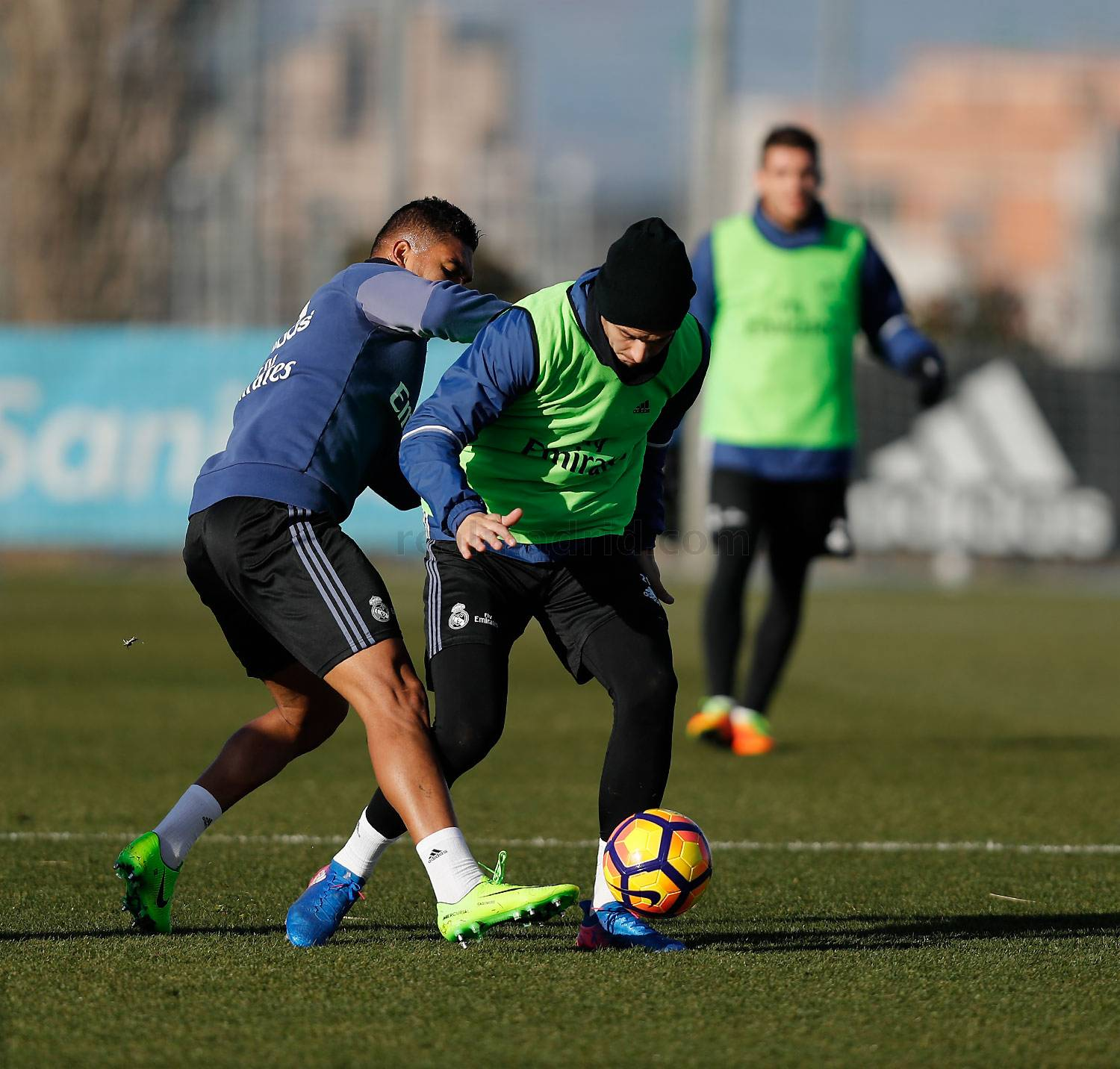 Real Madrid - Entrenamiento del Real Madrid - 07-02-2017