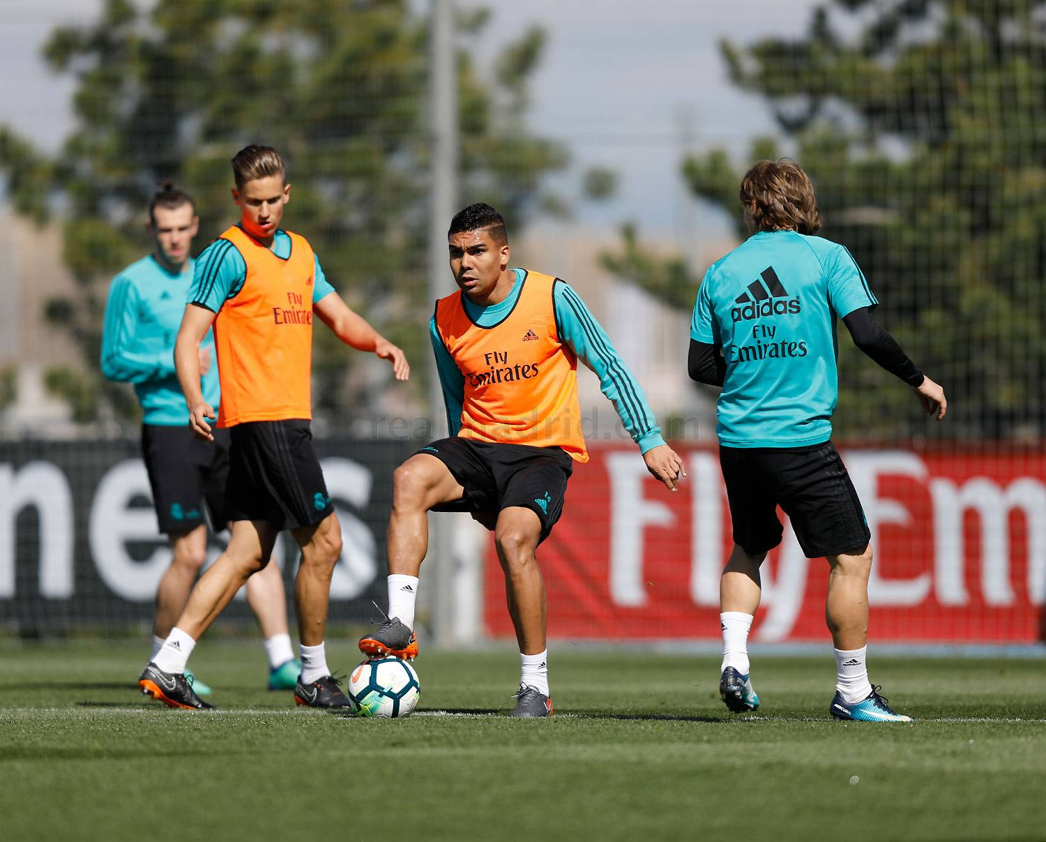 Real Madrid - Entrenamiento del Real Madrid - 14-04-2018