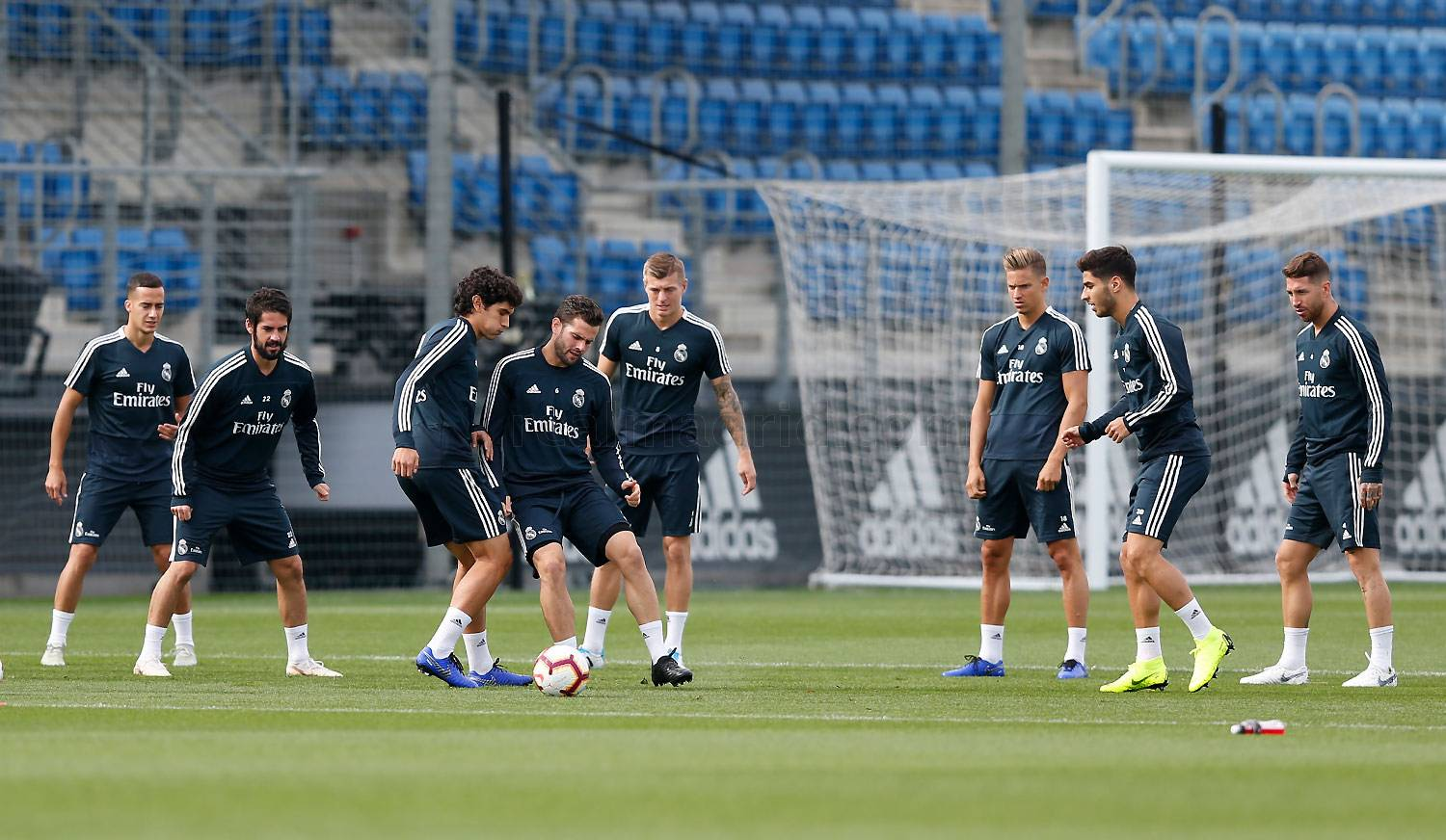 Real Madrid - Entrenamiento del Real Madrid - 18-10-2018