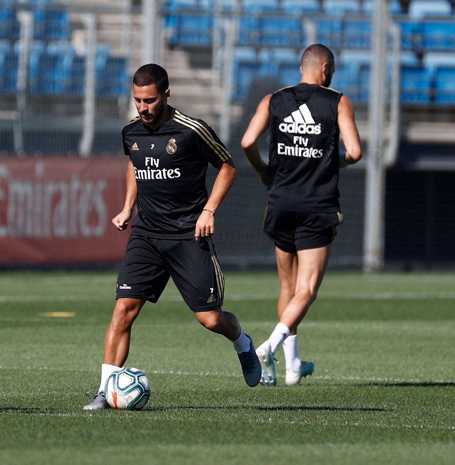 Real Madrid - Entrenamiento del Real Madrid  - 15-08-2019