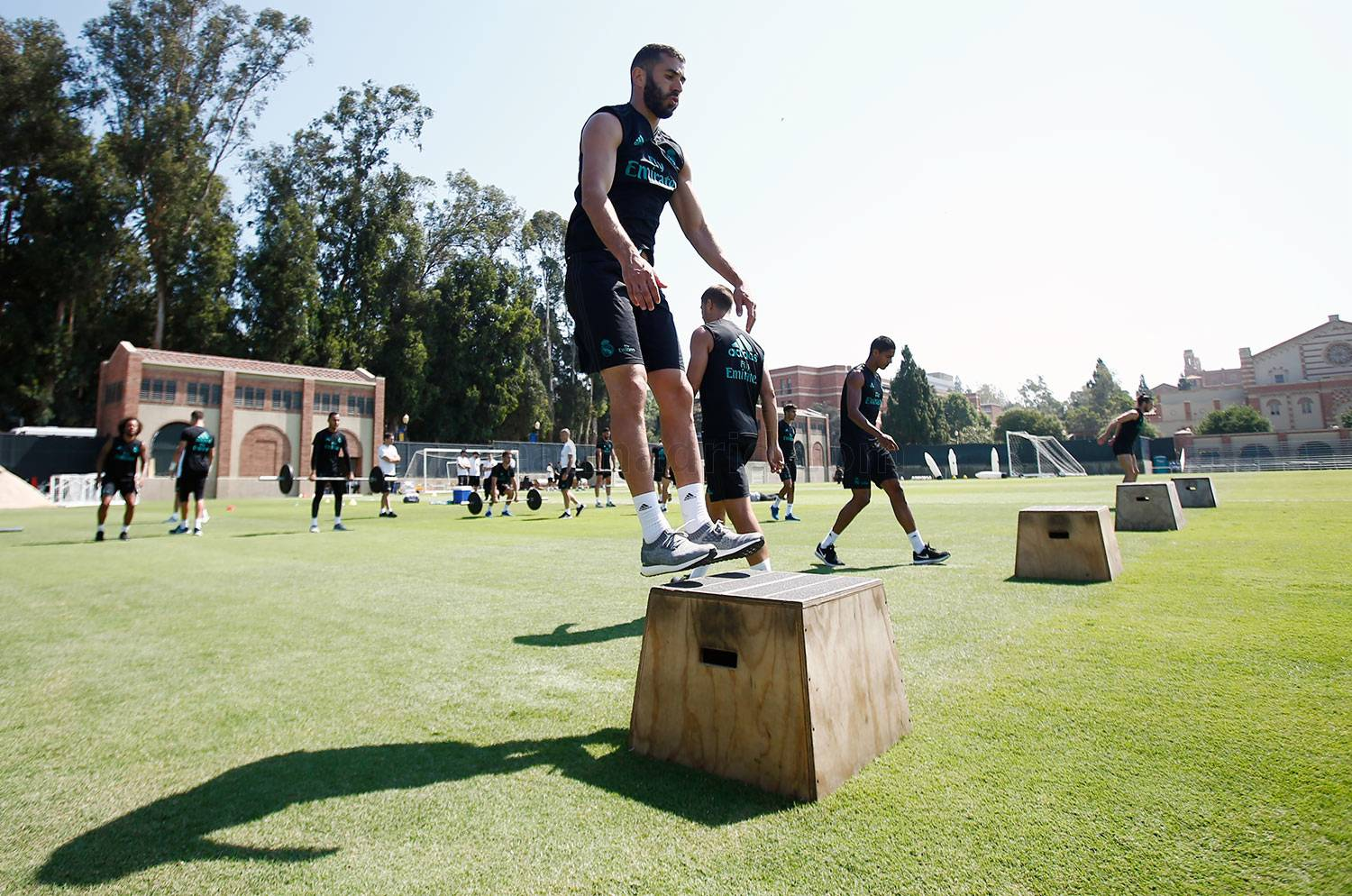 Real Madrid - Entrenamiento del Real Madrid en UCLA - 18-07-2017