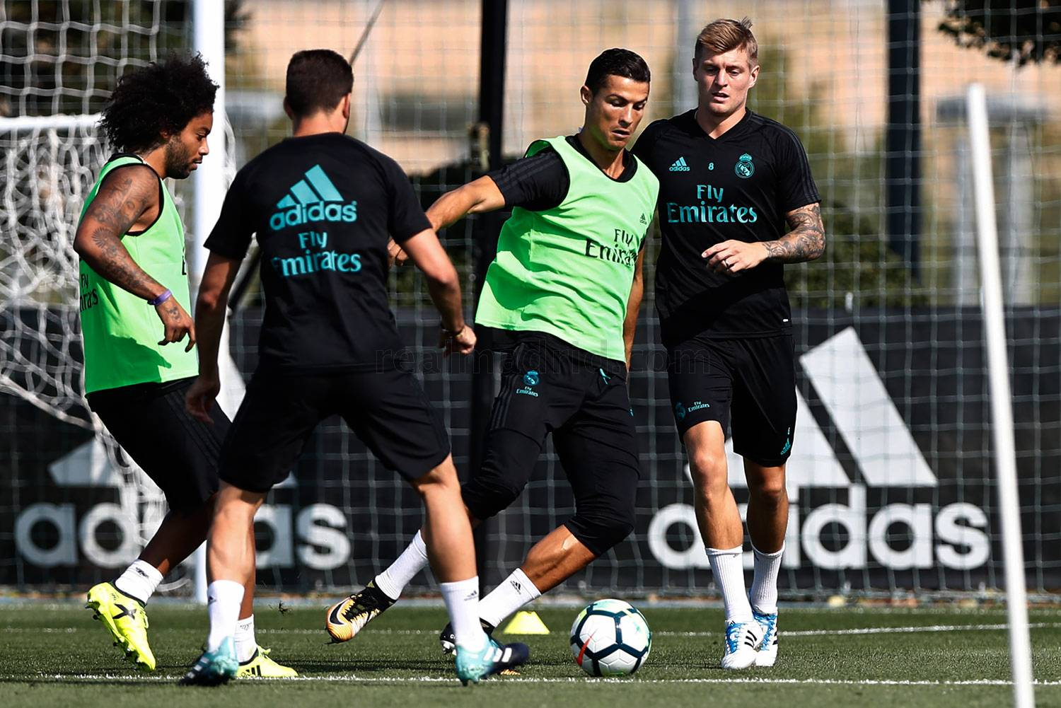 Real Madrid - Entrenamiento del Real Madrid - 07-09-2017