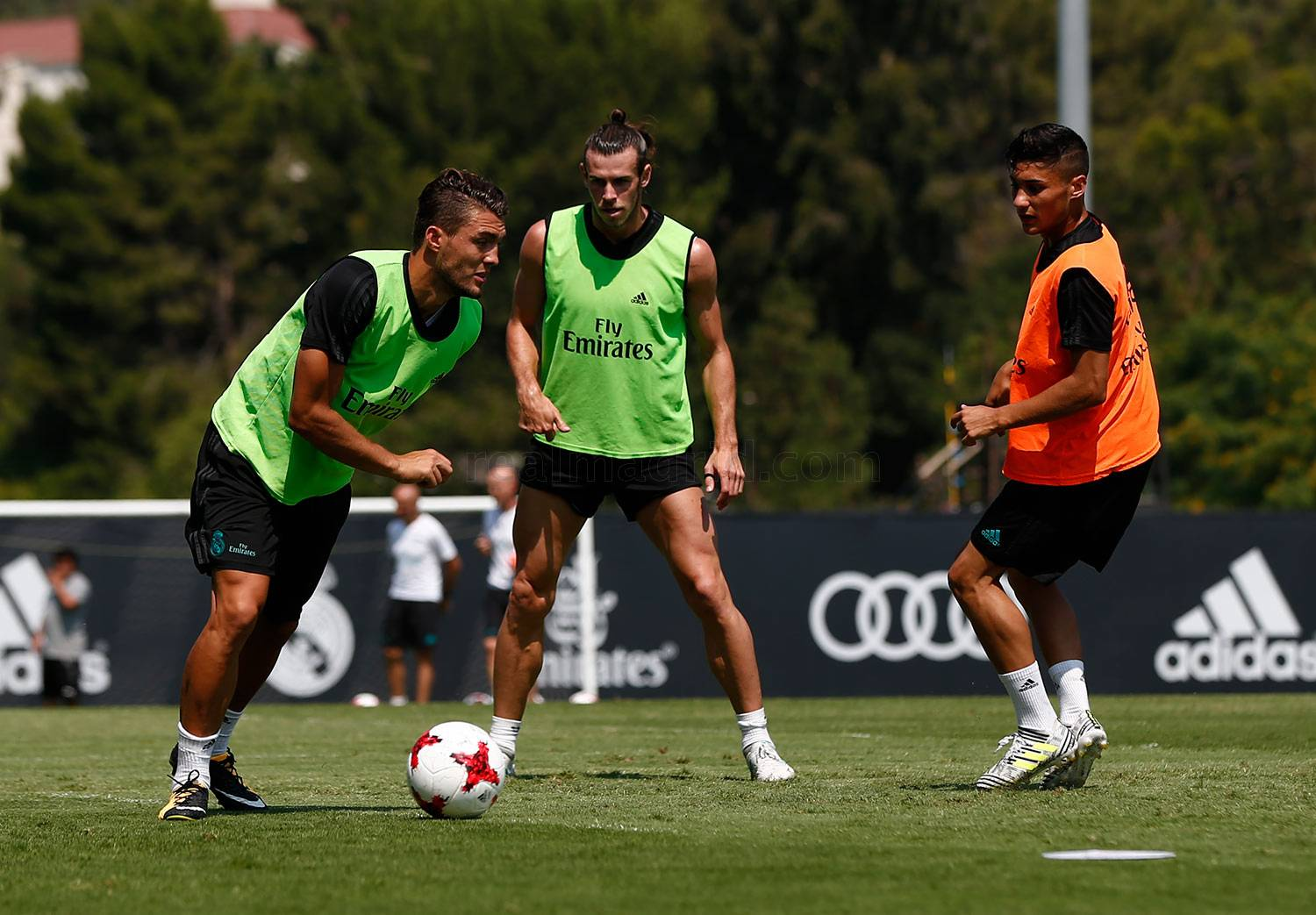 Real Madrid - Entrenamiento del Real Madrid en UCLA - 17-07-2017