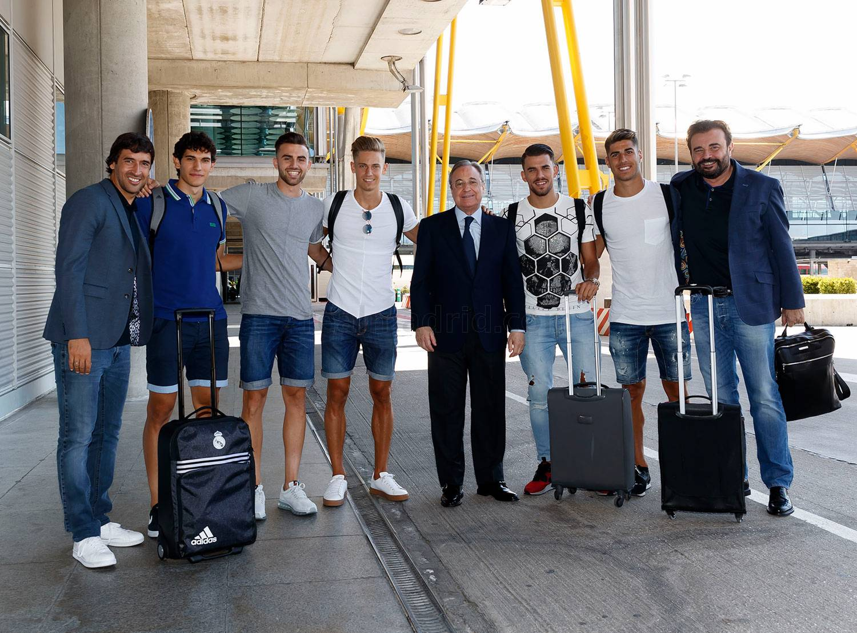 ფლორენტინო პერესი ლოს-ანჯელესს ახალწვეულებთან ერთად ეწვია