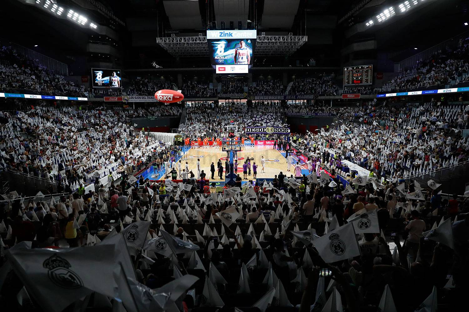 Real Madrid - Real Madrid - Valencia Basket - 10-06-2017