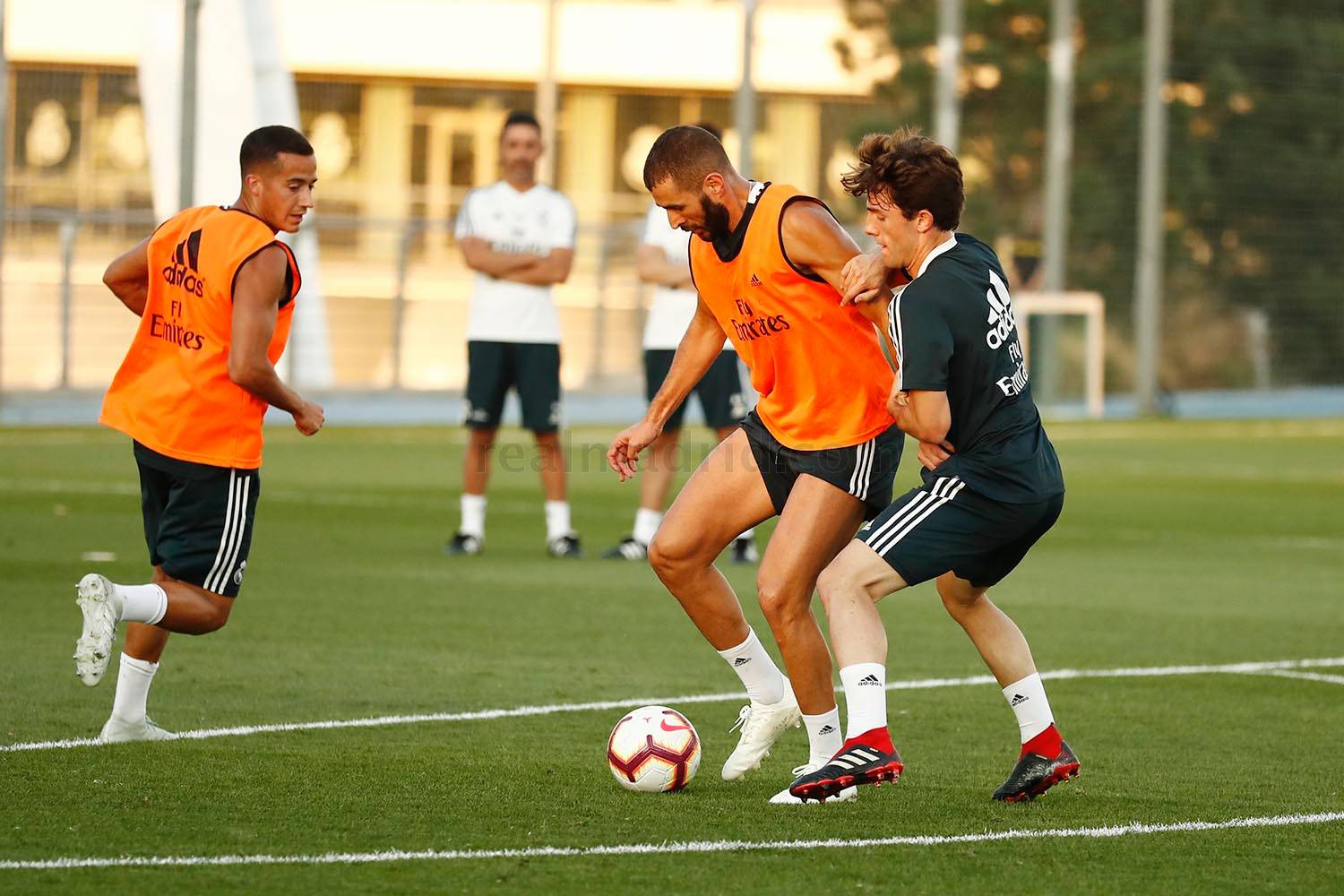Real Madrid - Entrenamiento del Real Madrid - 10-09-2018