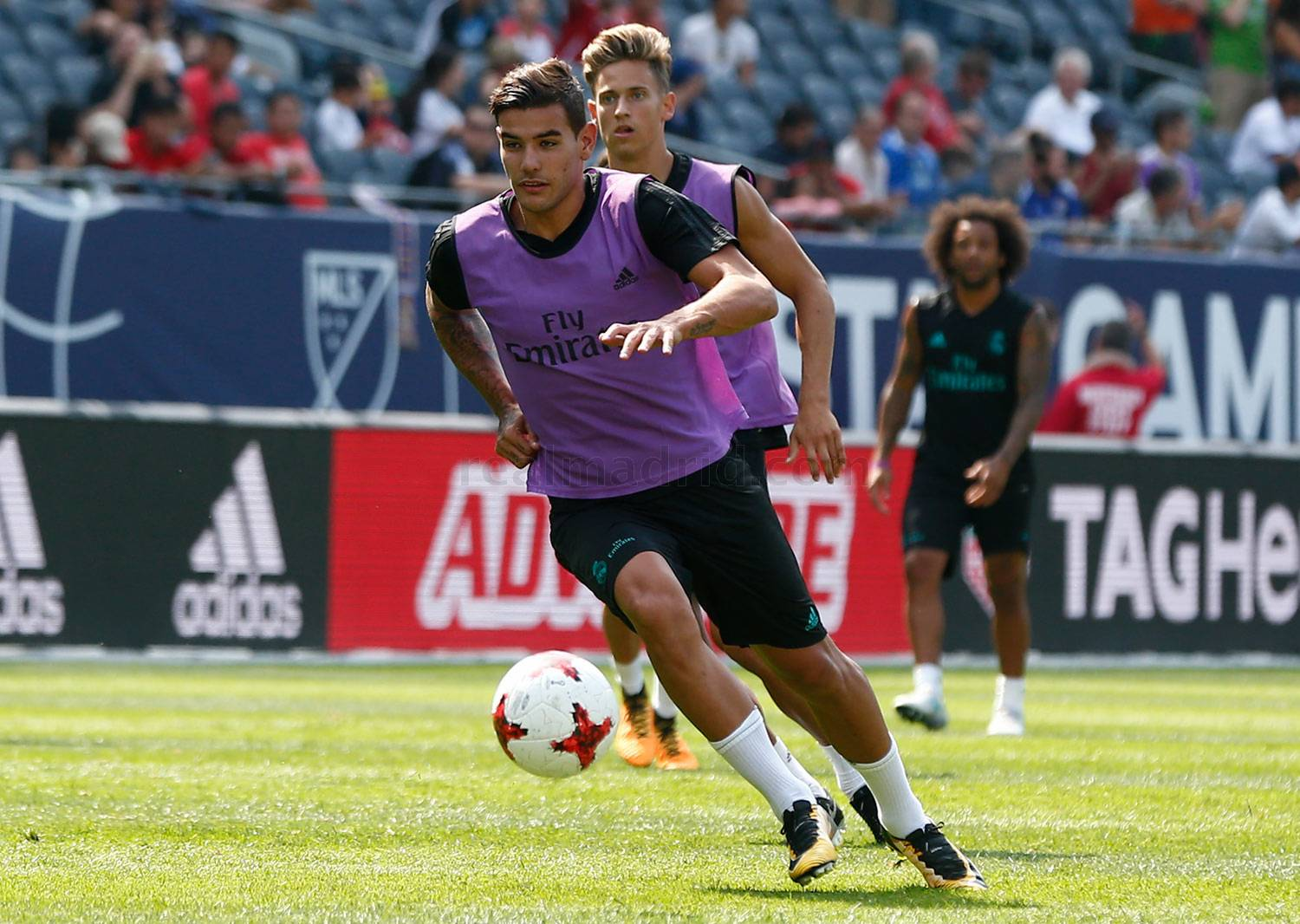 Real Madrid - Entrenamiento del Real Madrid en Chicago - 01-08-2017