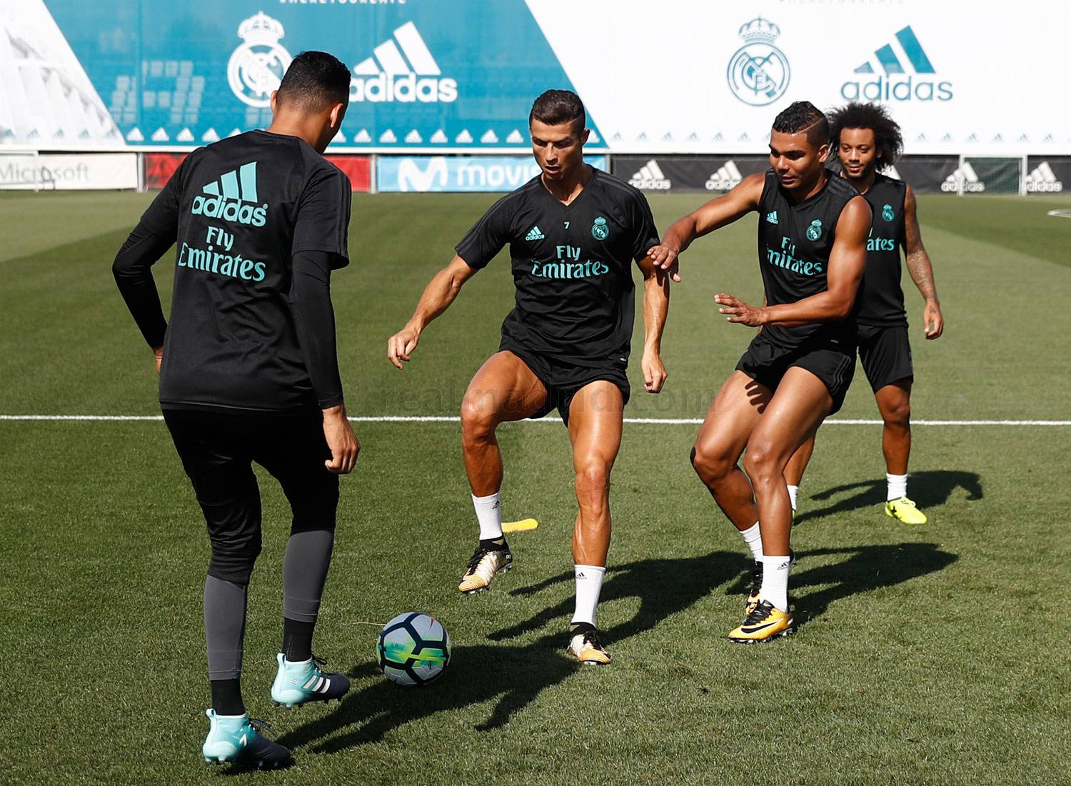 Real Madrid - Entrenamiento del Real Madrid - 18-08-2017