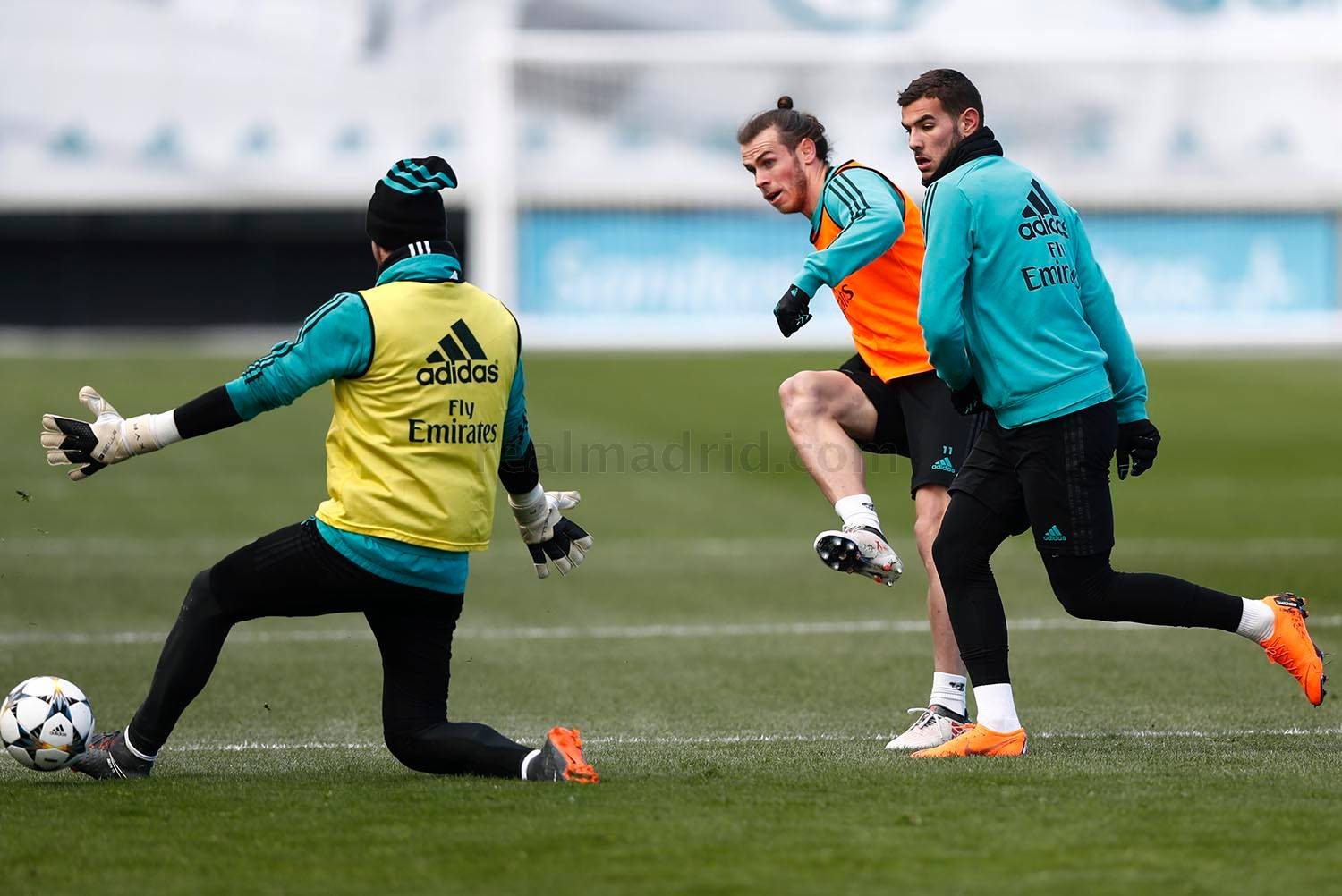 Real Madrid - Entrenamiento del Real Madrid - 12-02-2018