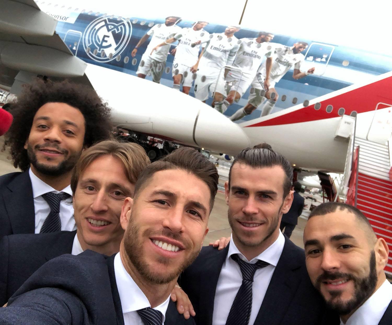 Real Madrid: Le club présente son nouvel Airbus A380 personnalisé-Photos