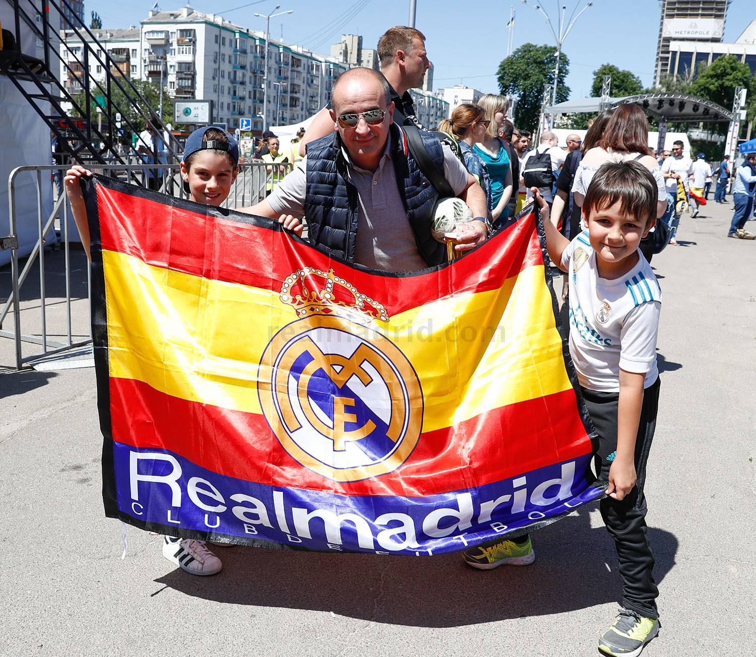 Real Madrid - Fan zone del Real Madrid en Kiev - 26-05-2018