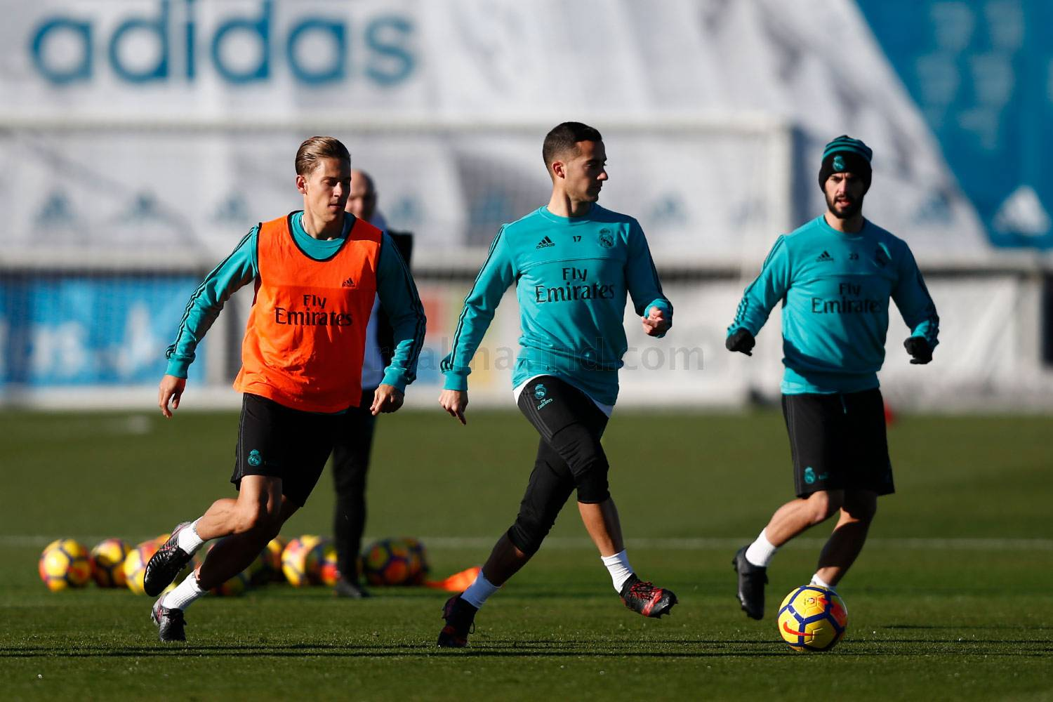 Real Madrid - Entrenamiento del Real Madrid - 19-12-2017