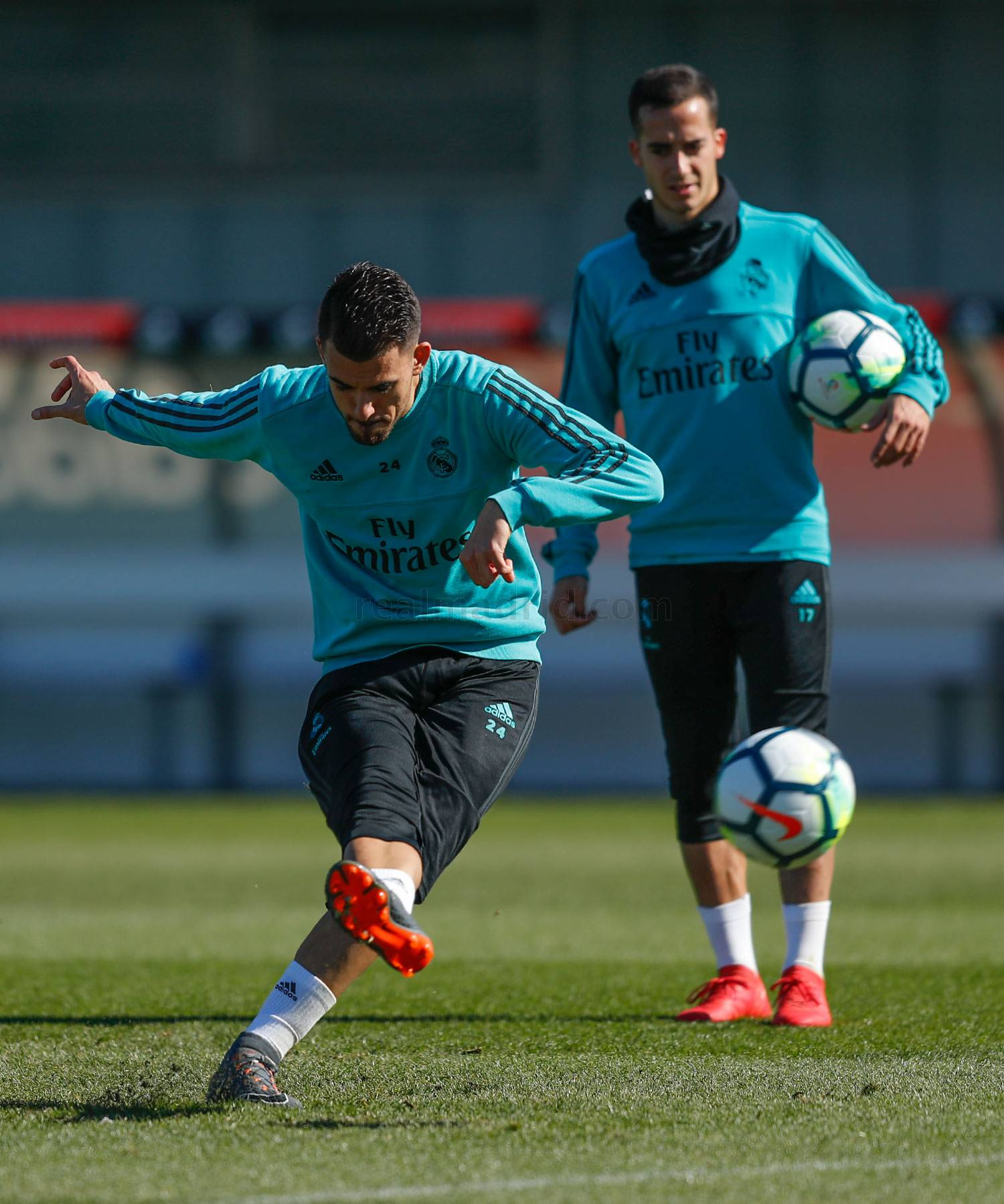 Real Madrid - Entrenamiento del Real Madrid - 26-02-2018