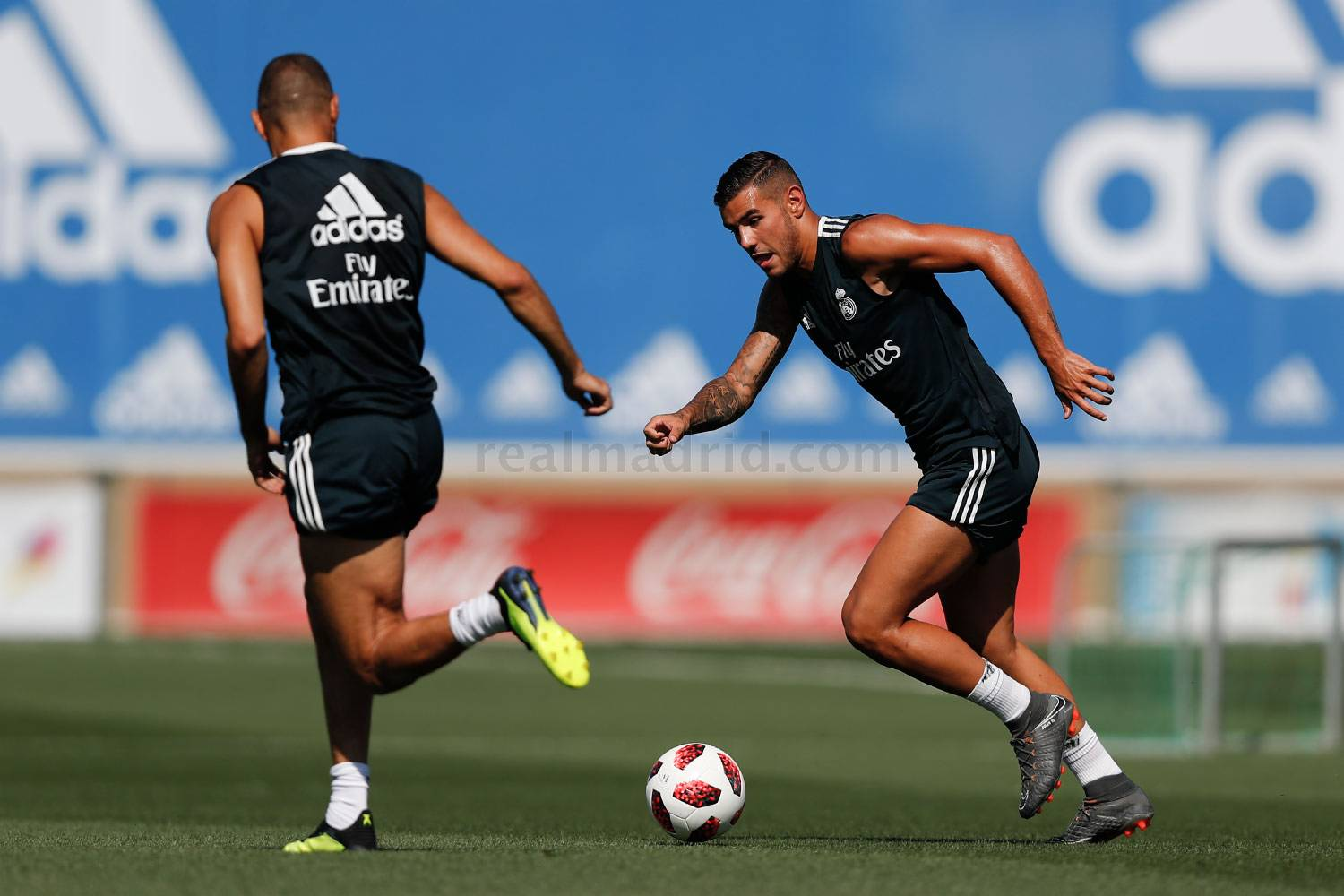 Real Madrid - Entrenamiento del Real Madrid - 23-07-2018