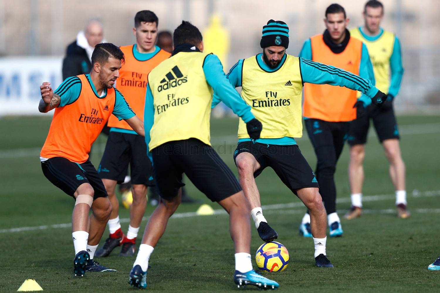 Real Madrid - Entrenamiento del Real Madrid - 20-12-2017
