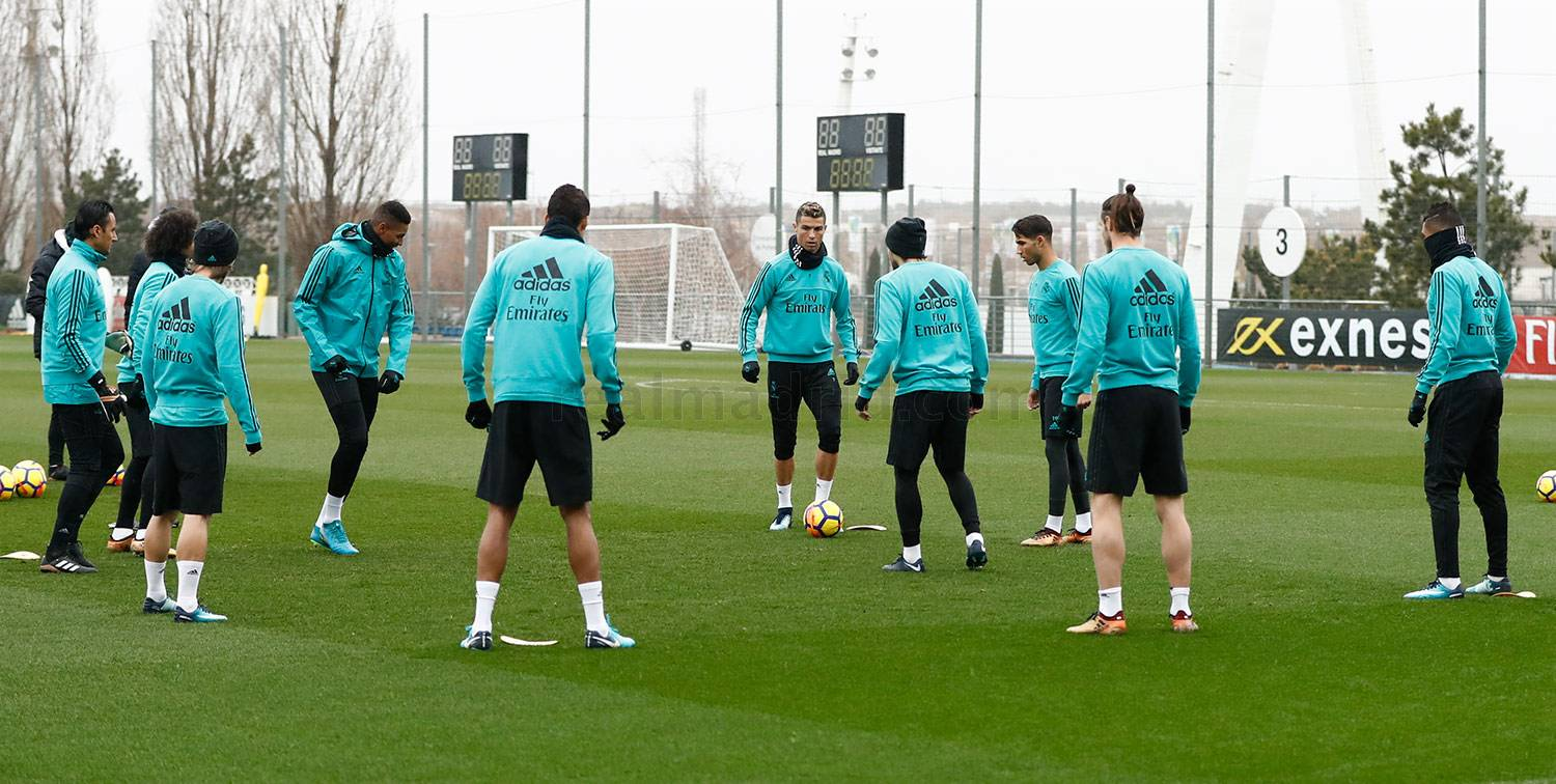 Real Madrid - Entrenamiento del Real Madrid - 06-01-2018