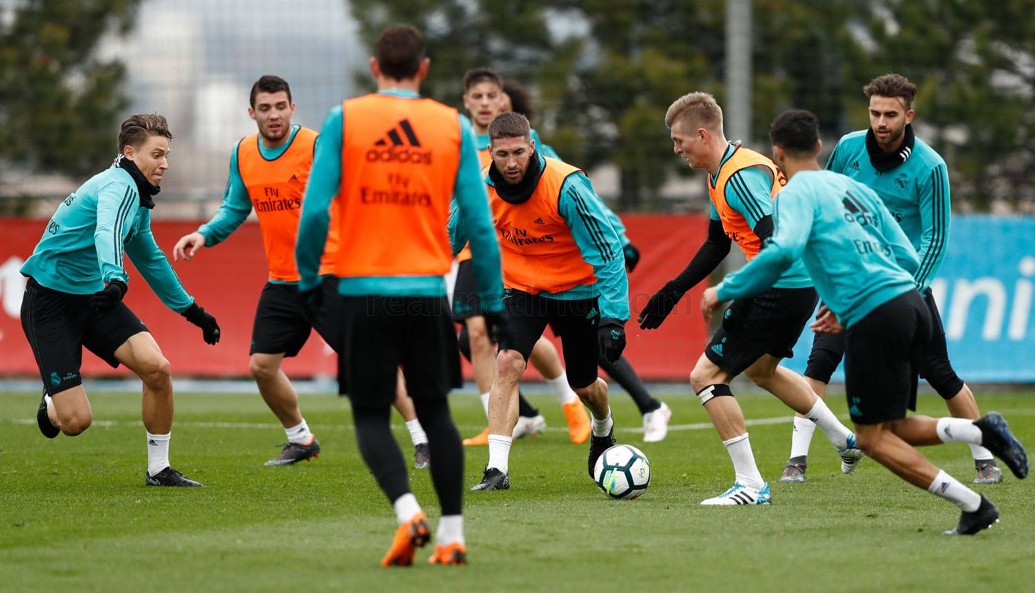 Real Madrid - Entrenamiento del Real Madrid - 14-03-2018